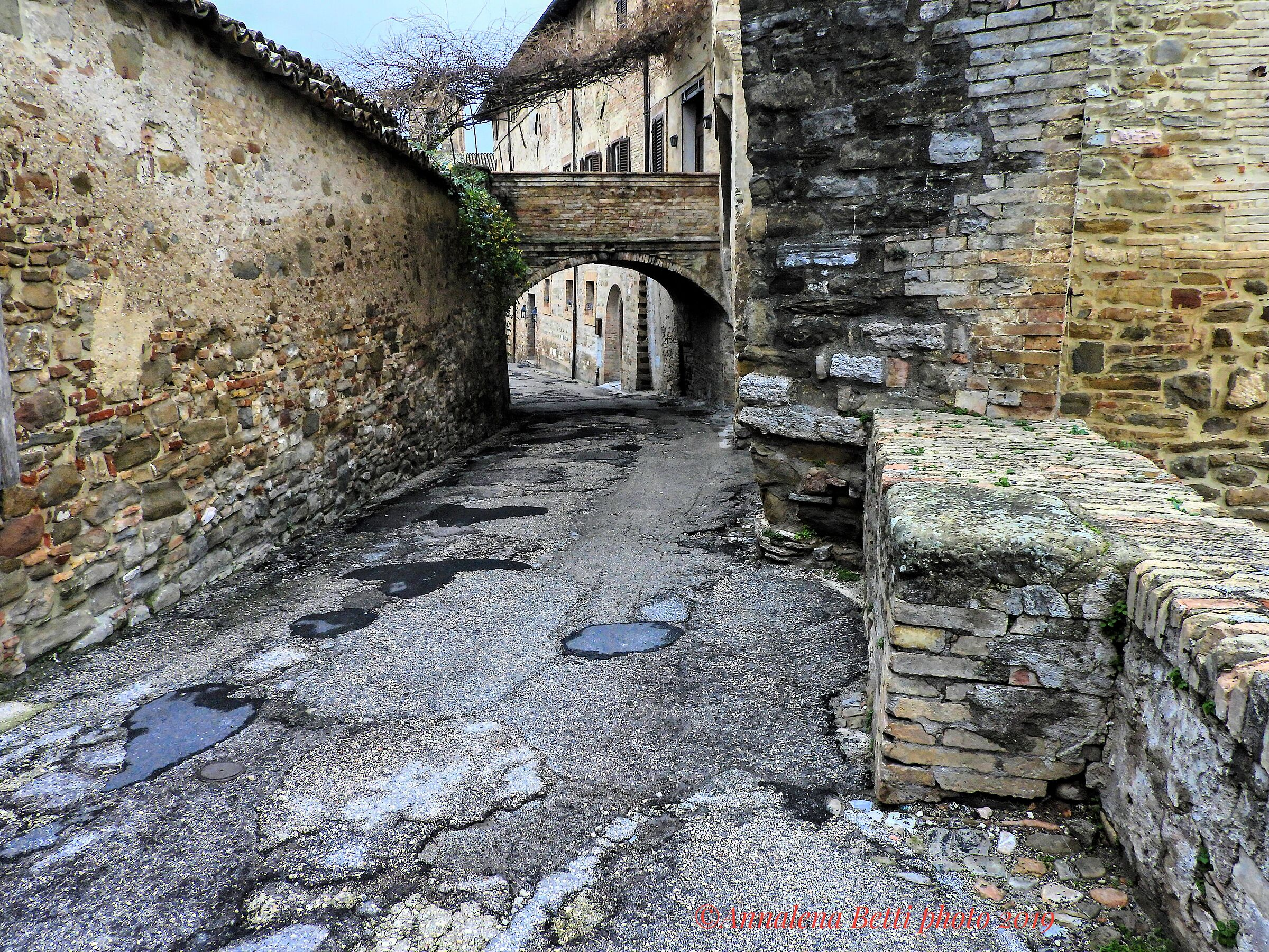 For the alleys of Bevagna in Umbria...