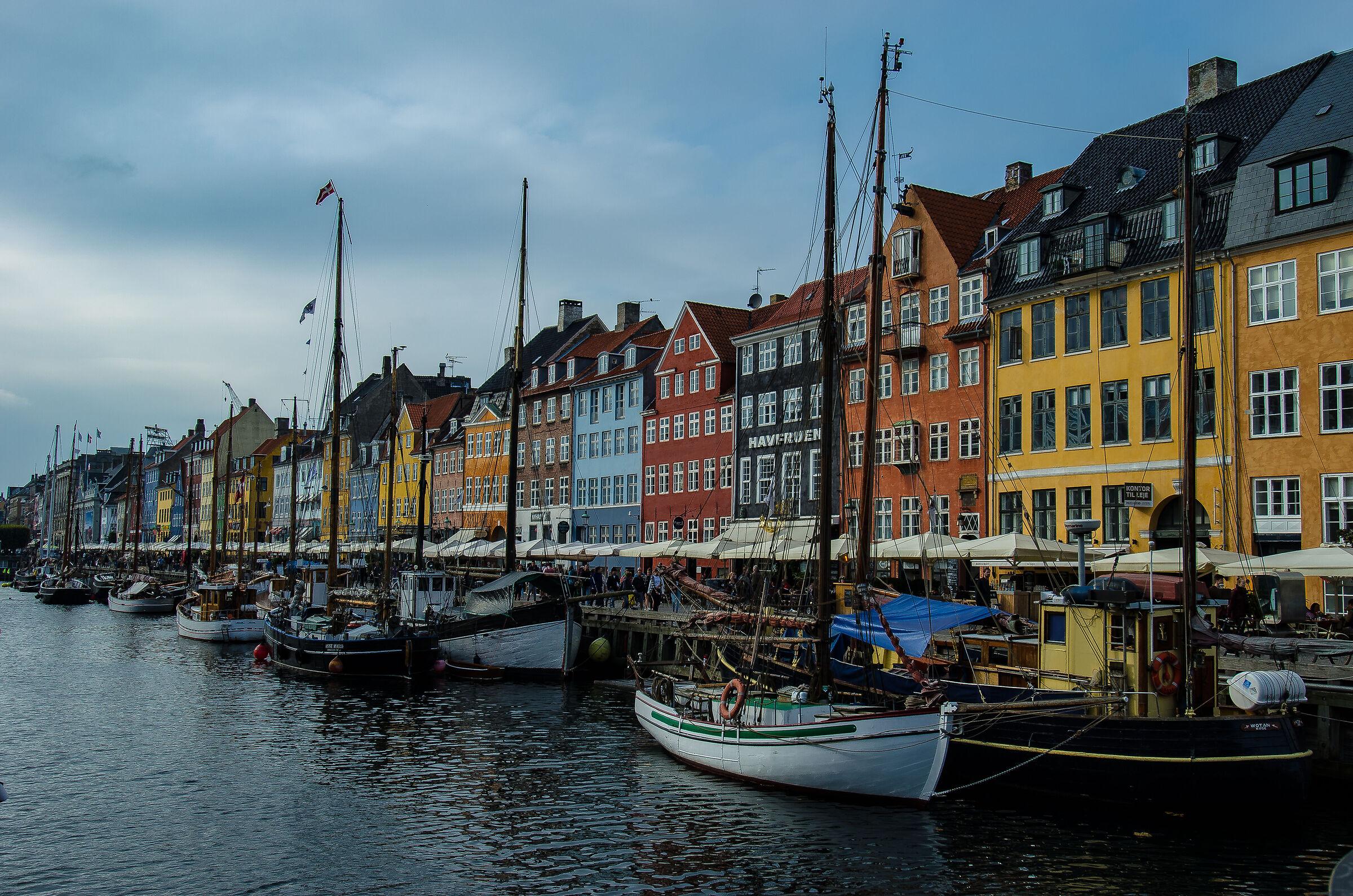 Nyhavn Copenhagen...