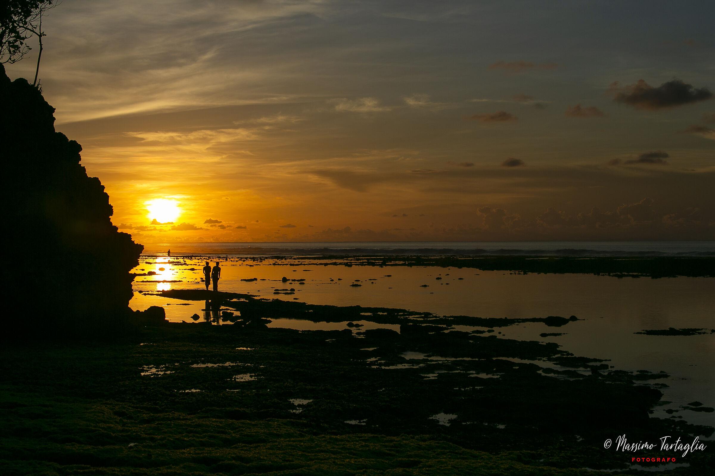 Bali, Suset, Golden Hour...