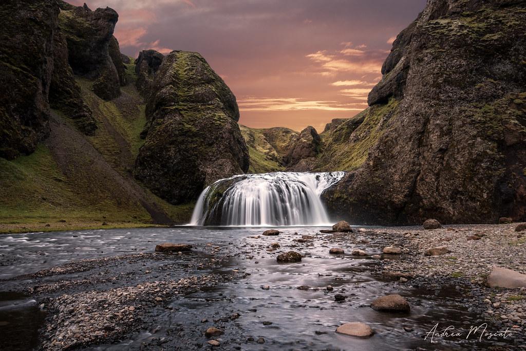 Stjórnarfoss (Iceland)...