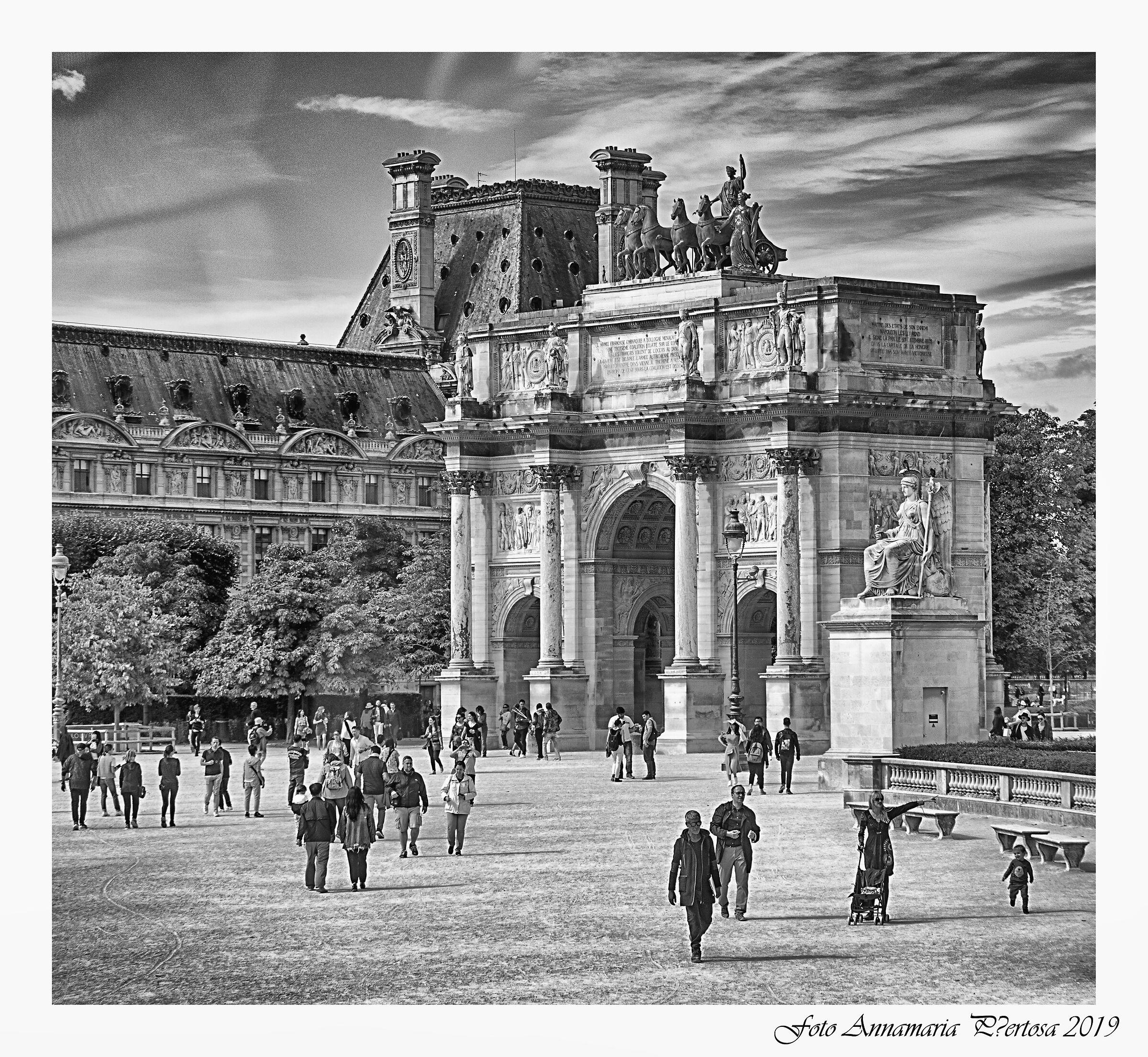 The Chariot's Arc de Triomphe...