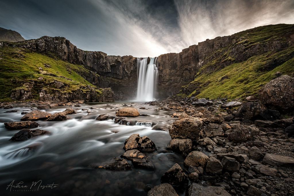 Gufufoss (Iceland)...