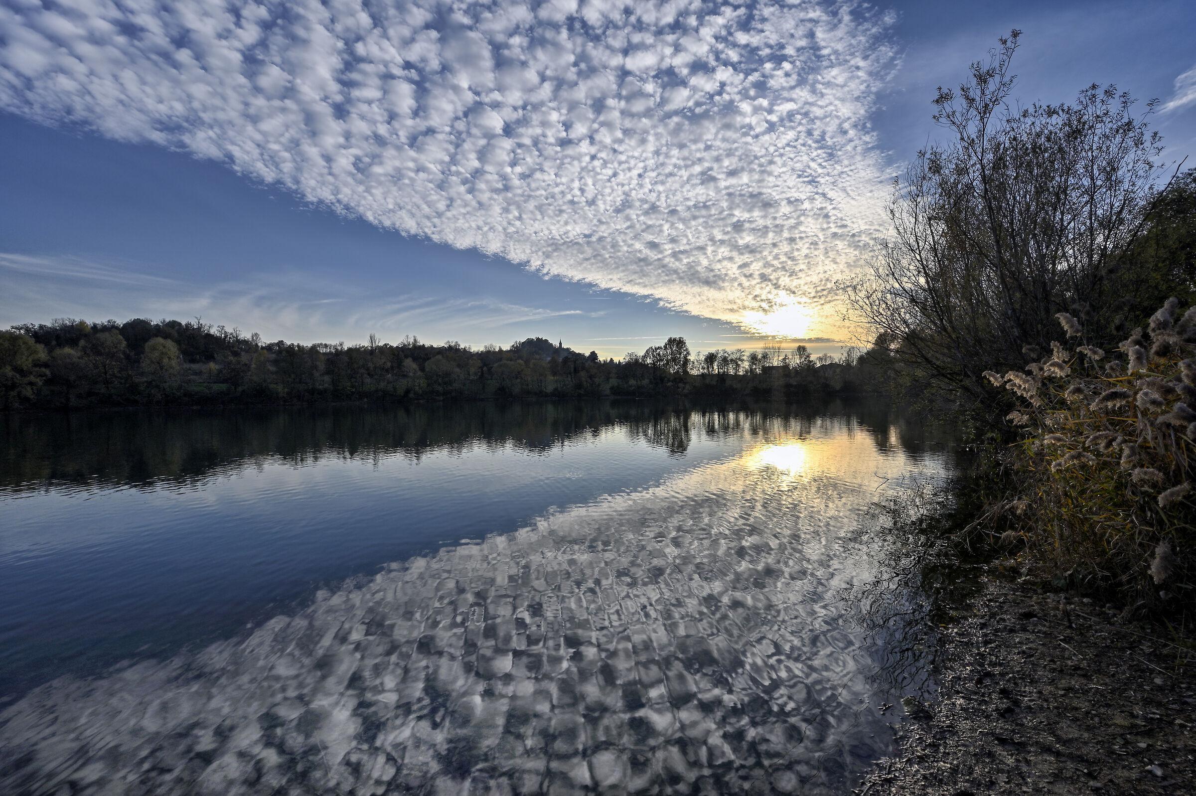 Un lago di nuvole...