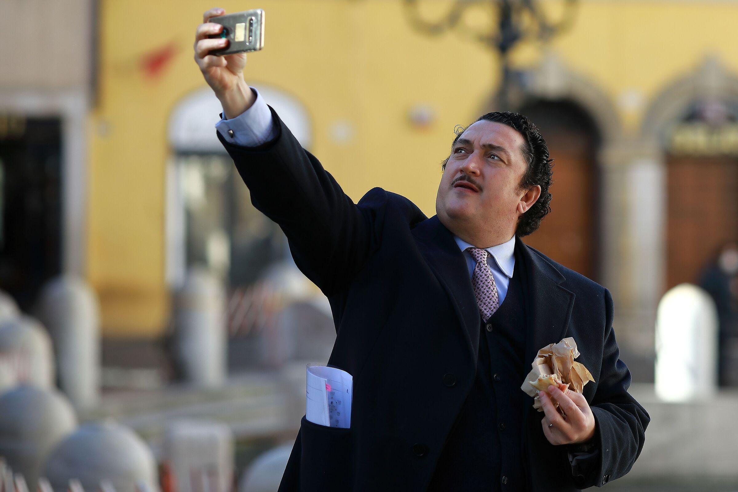 Selfie, l'irresistibile tentazione...