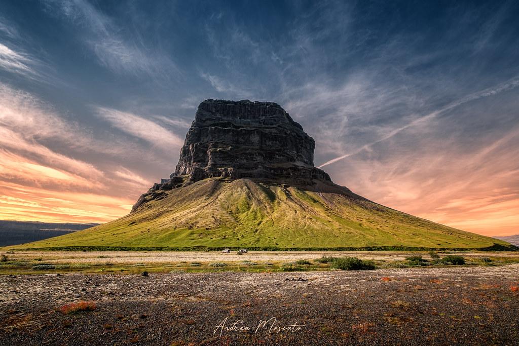 Lómagnúpur, Iceland...