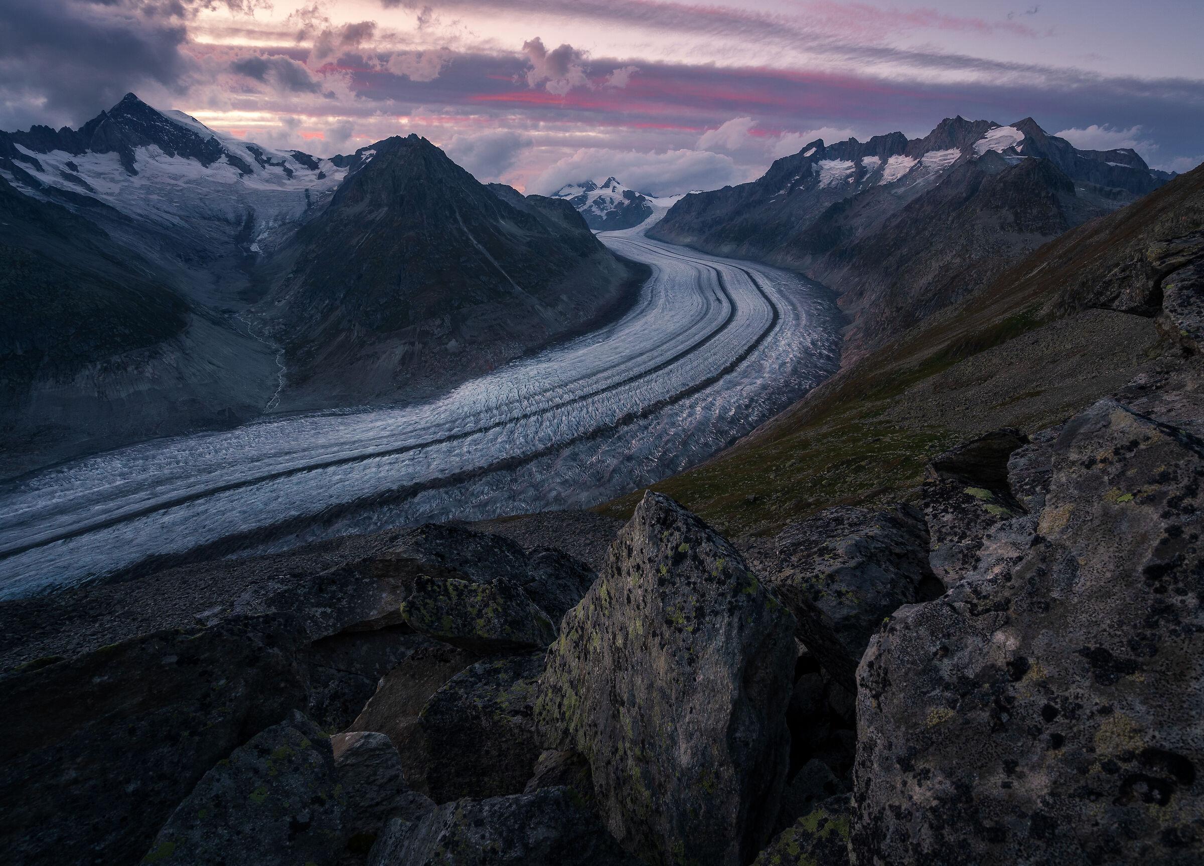 Aletsch Glacier...
