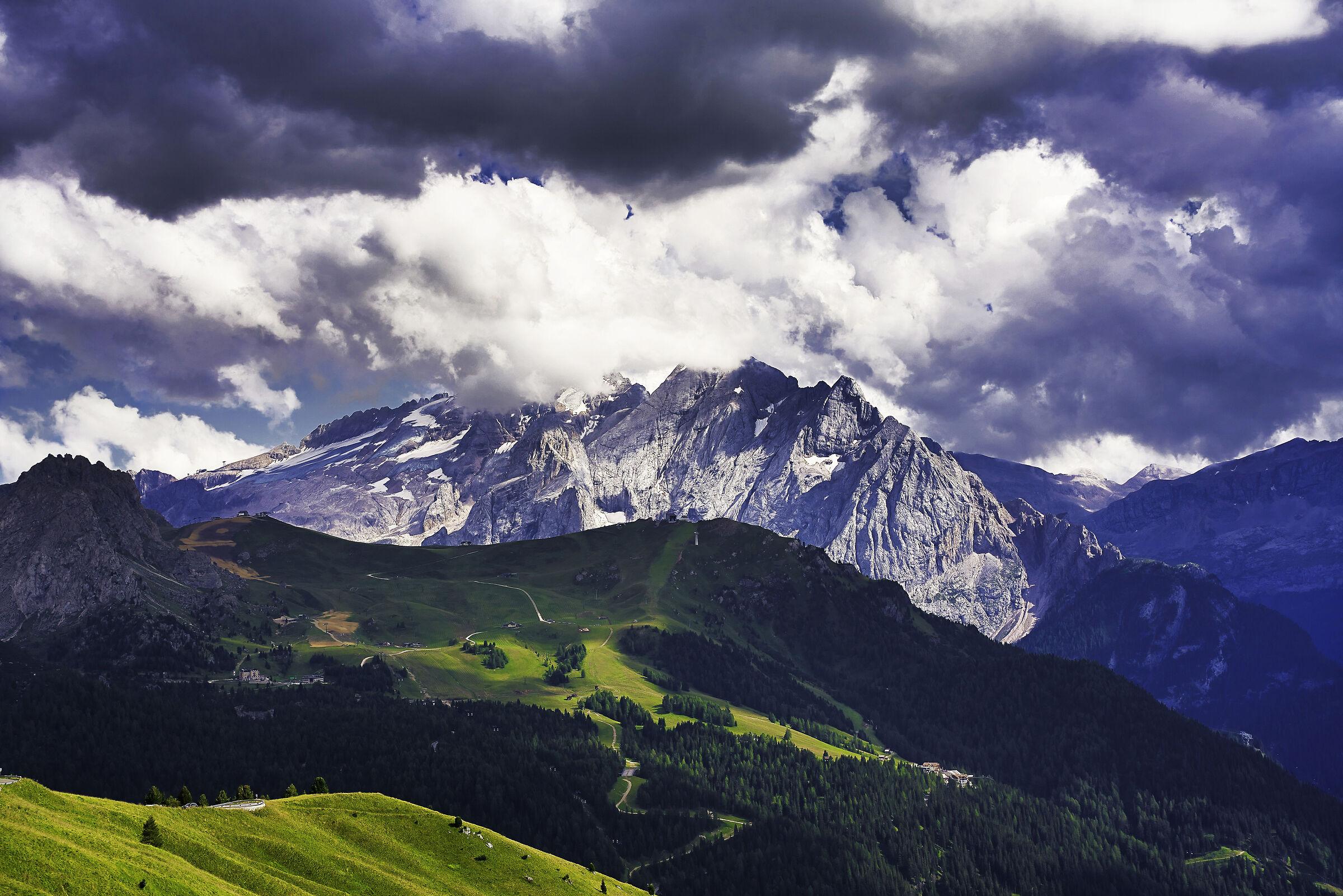 Dolomite landscape...