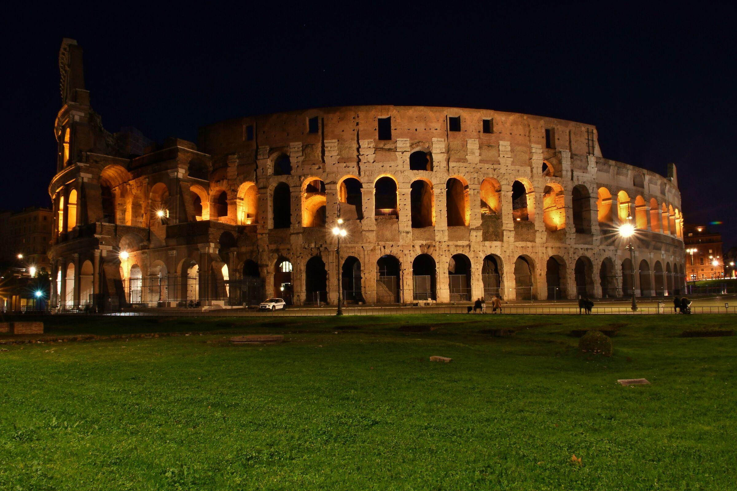 The Colosseum...