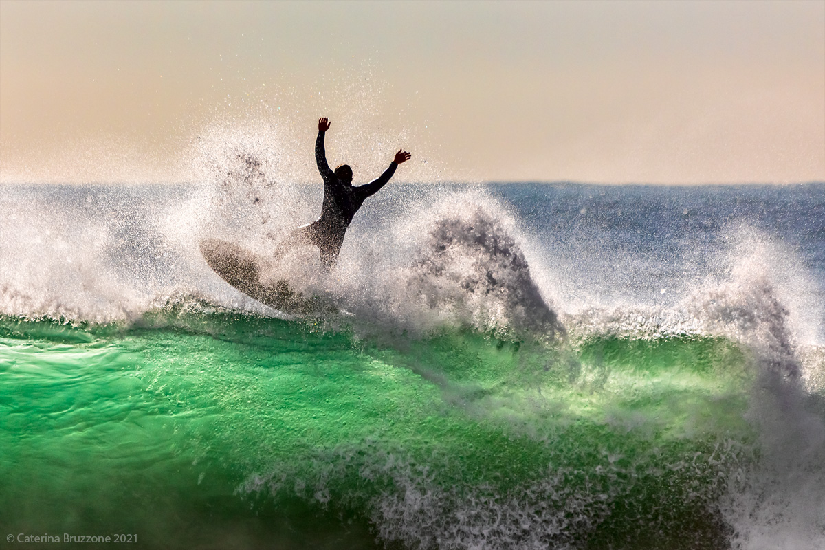 The joys of surfing...