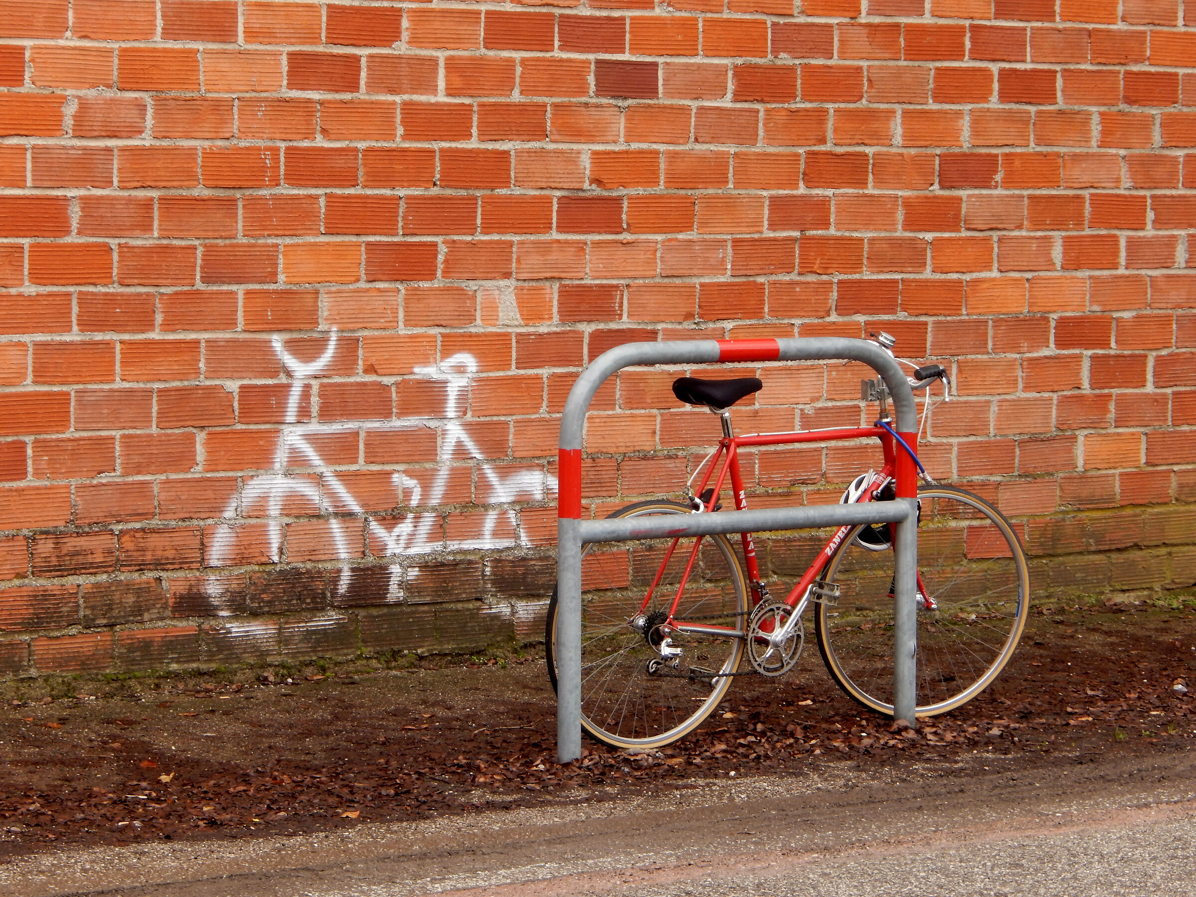 Reserved for bicycles...