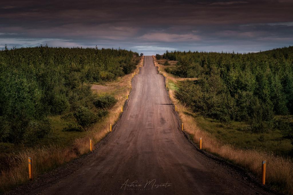 Upphéraðsvegur Route 931 (Iceland)...