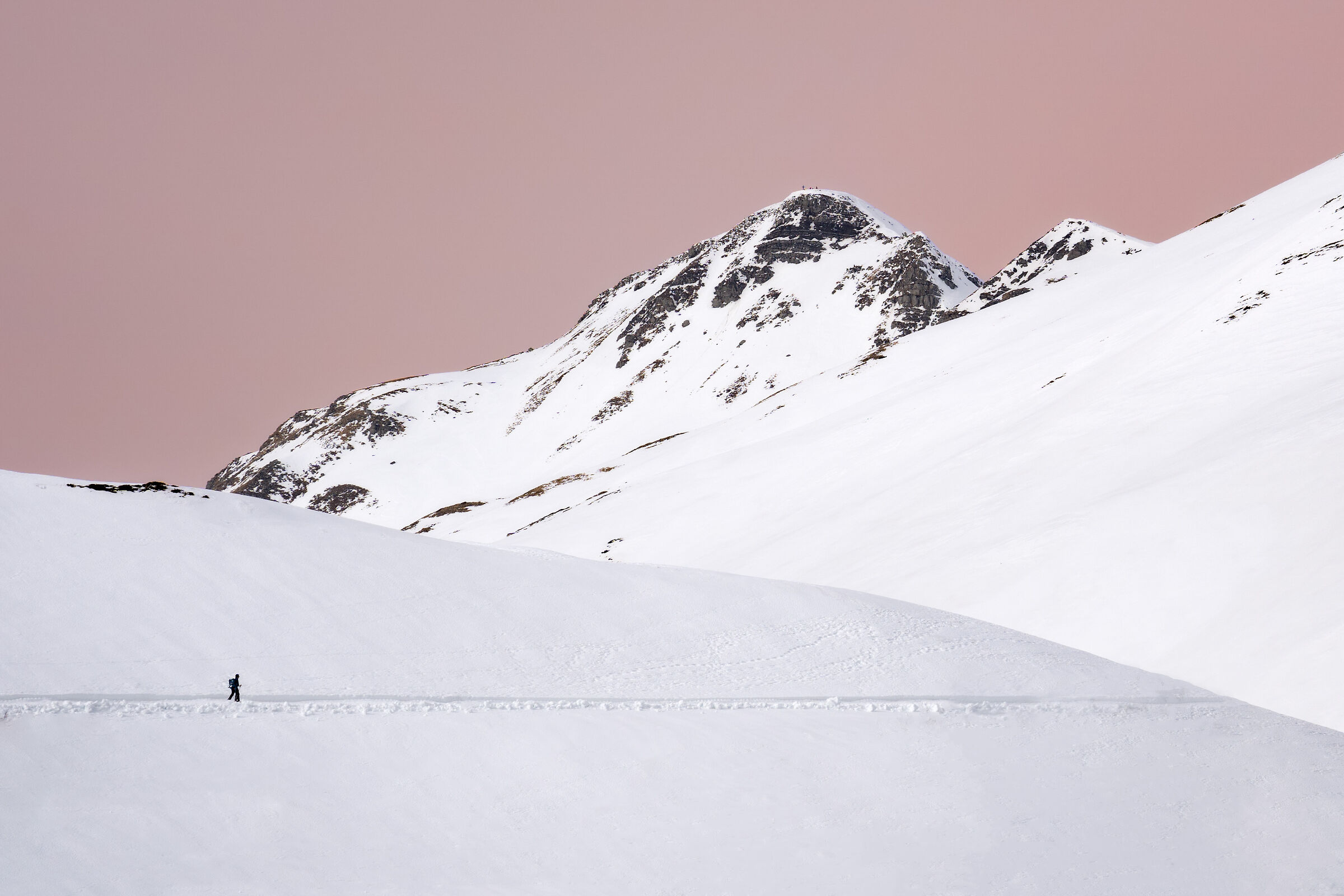 Camminate invernali in Appennino...