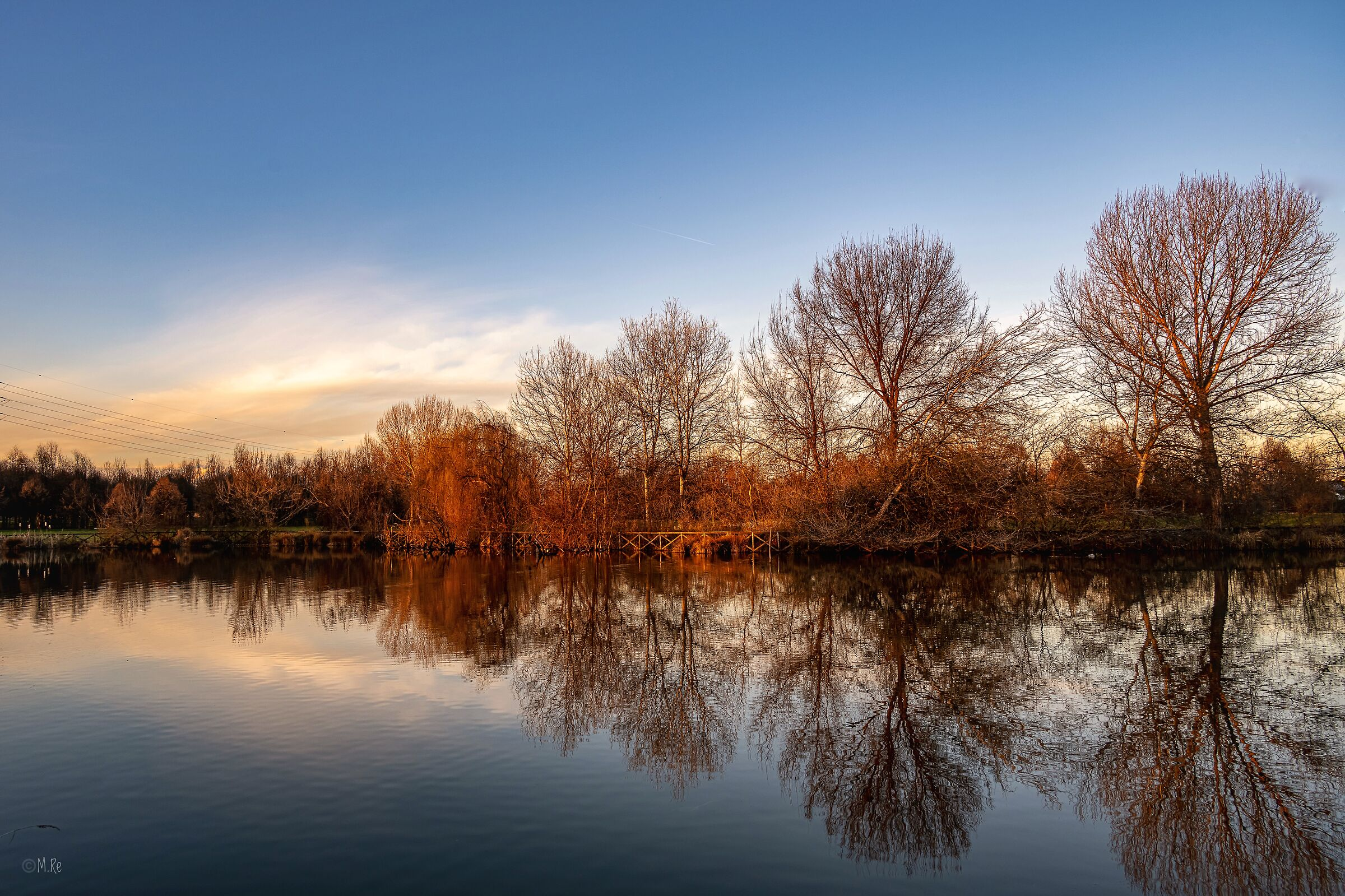 Reflections in the lake...