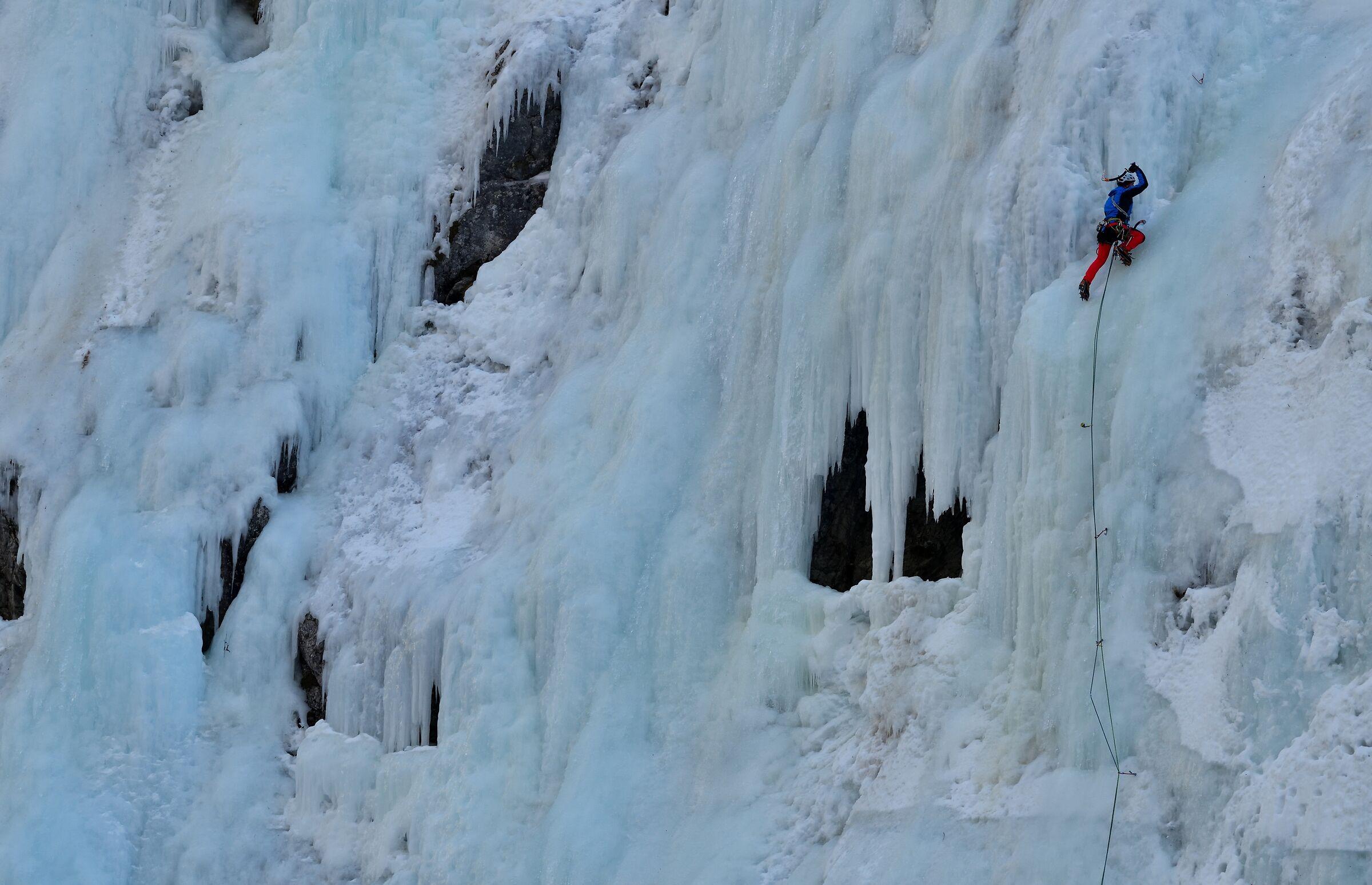 ice falls.....