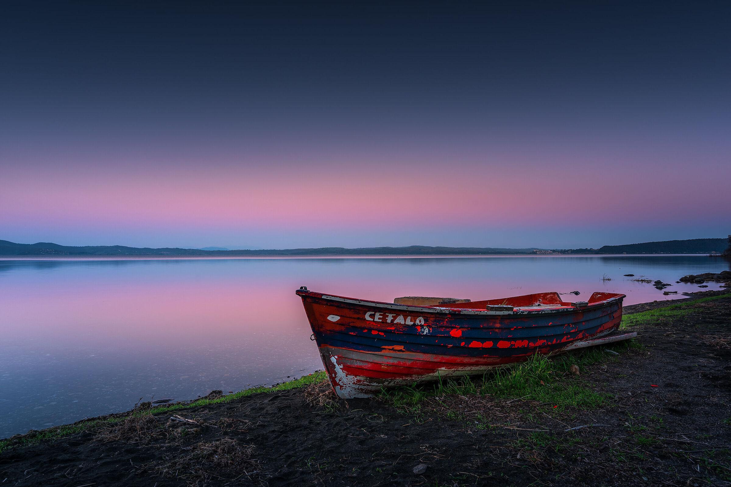 Blue Hour at Lake Bracciano...