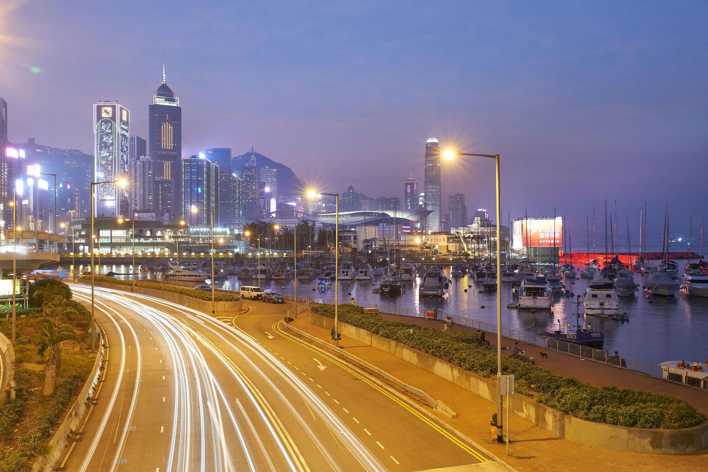 City night...