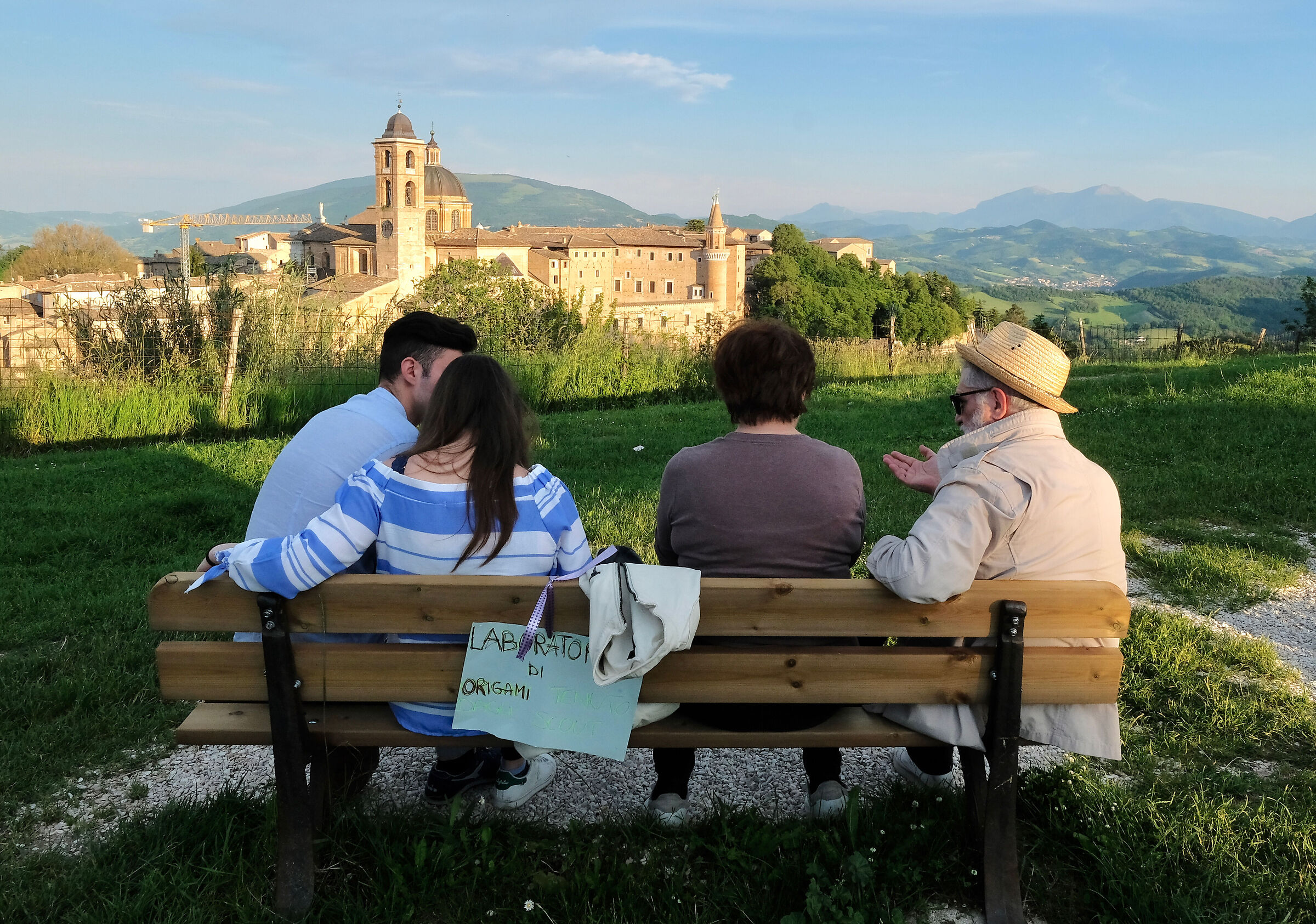 Quiet end of the afternoon in Urbino...