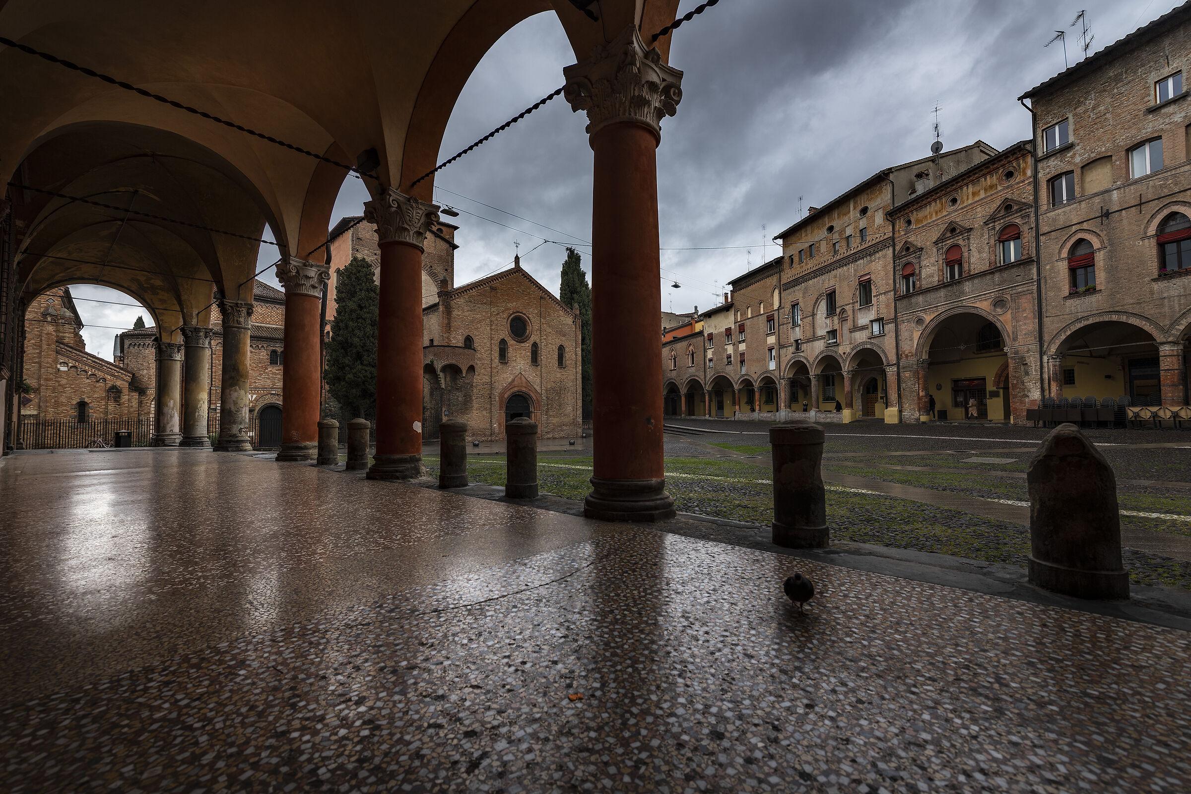 Bologna, Piazza Santo Stefano...