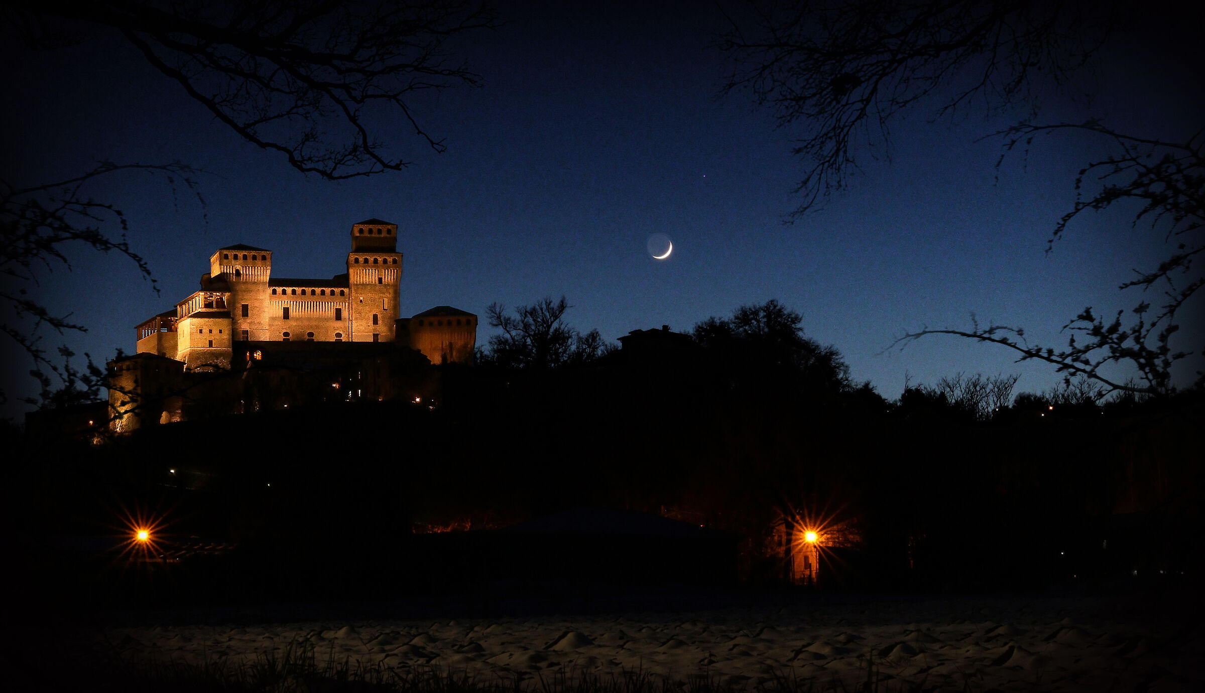 The Castle and the Moon...