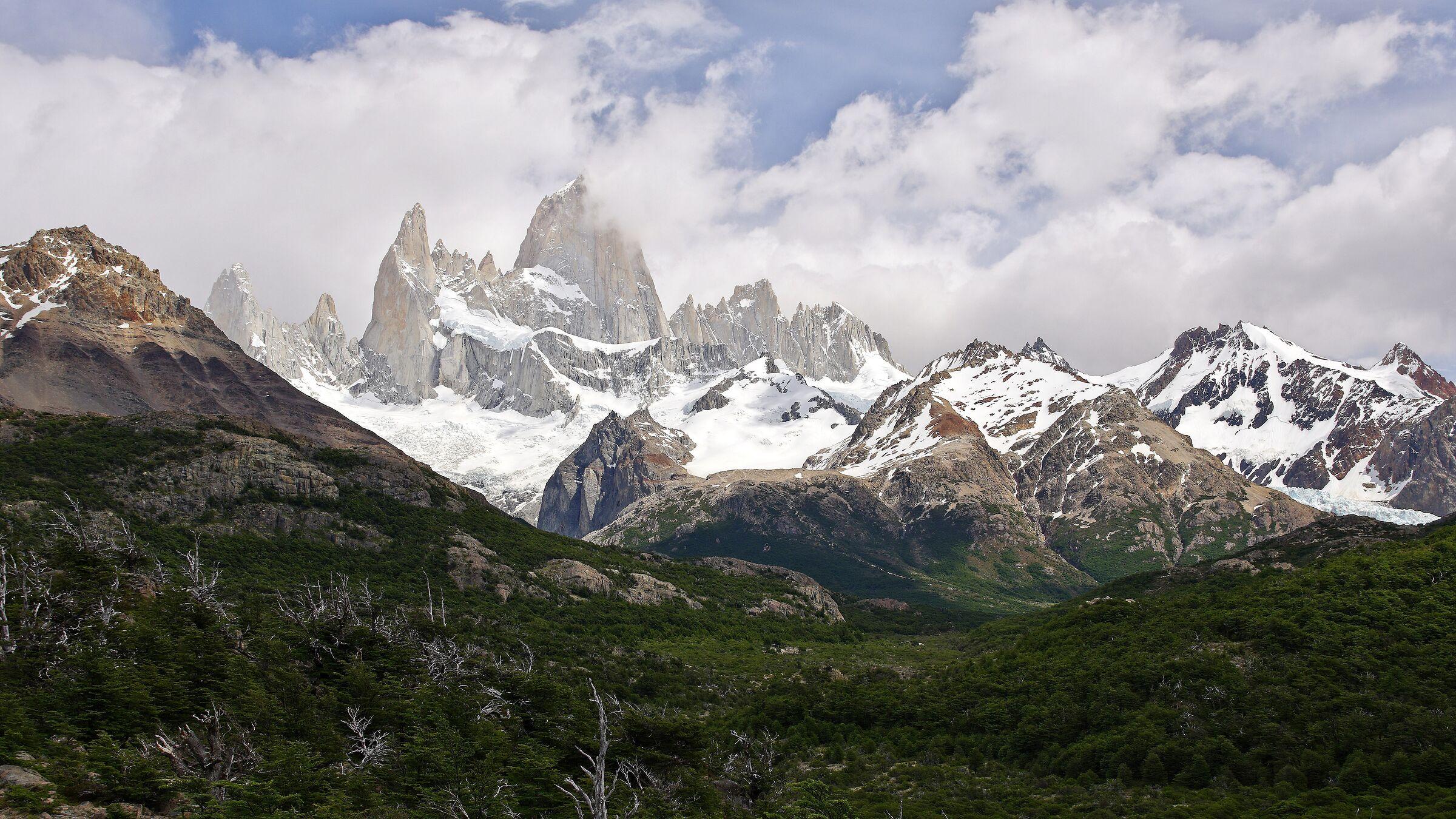 Monte Fitz Roy- El Chaltén- Patagonia- Argentina...