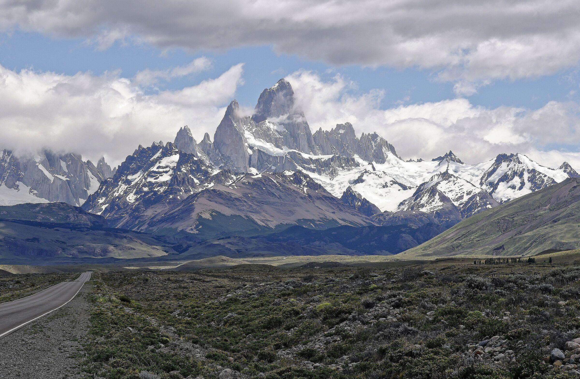Monte Fitz Roy-El Chaltén- Patagonia- Argentina...