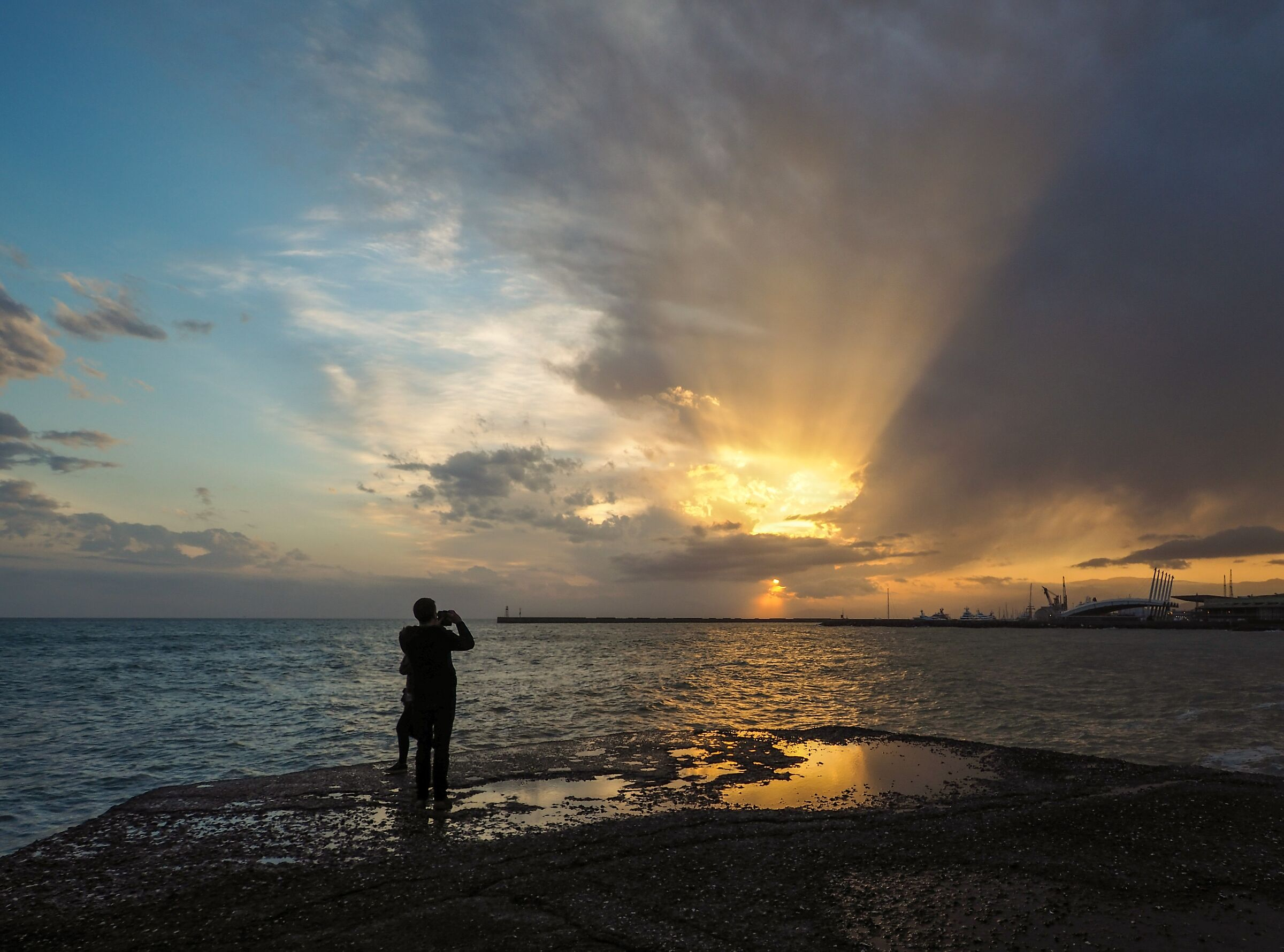 The Last Ray of The Sun (compositional crop)...