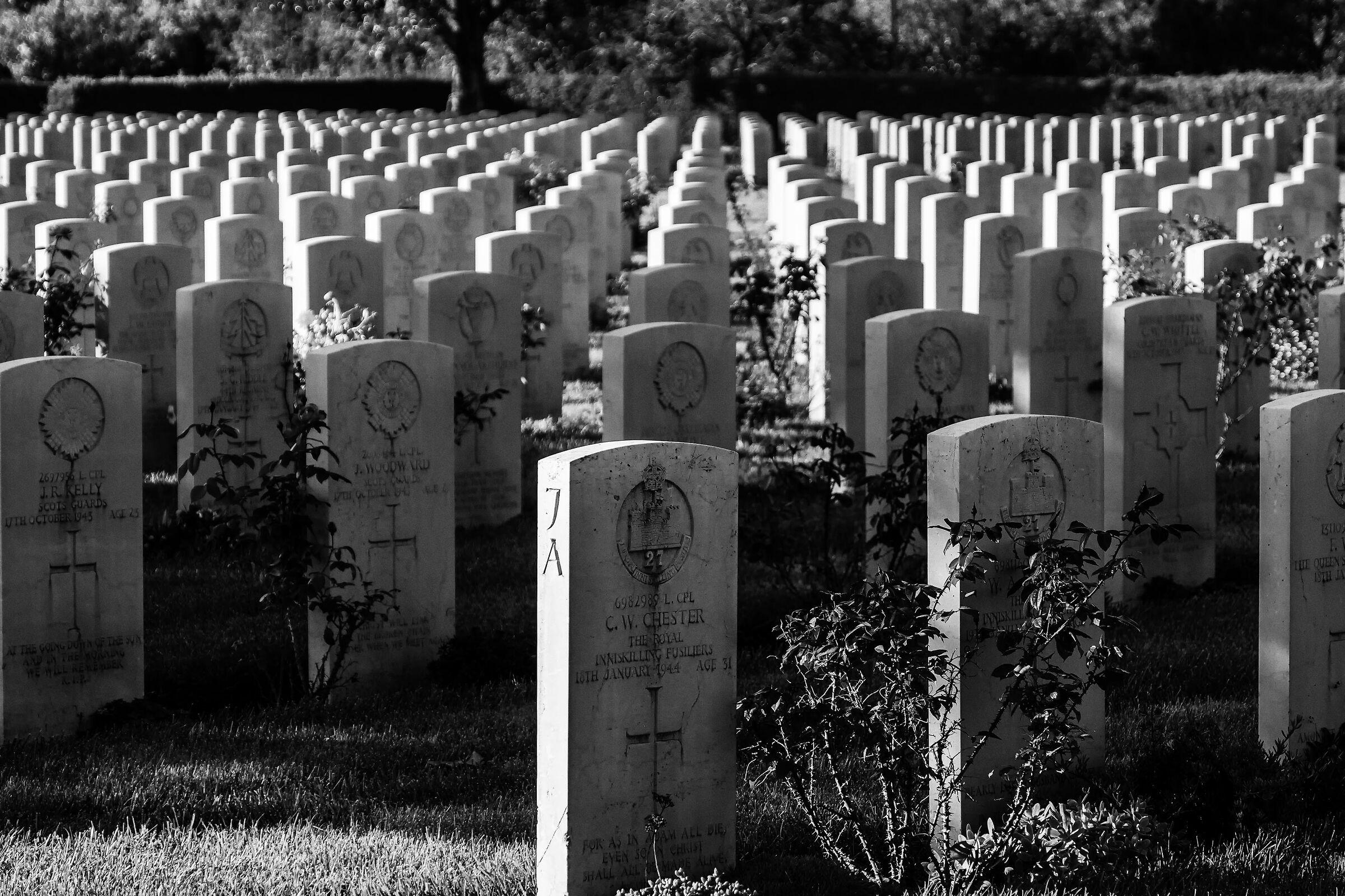 Minturno War Cemetery...