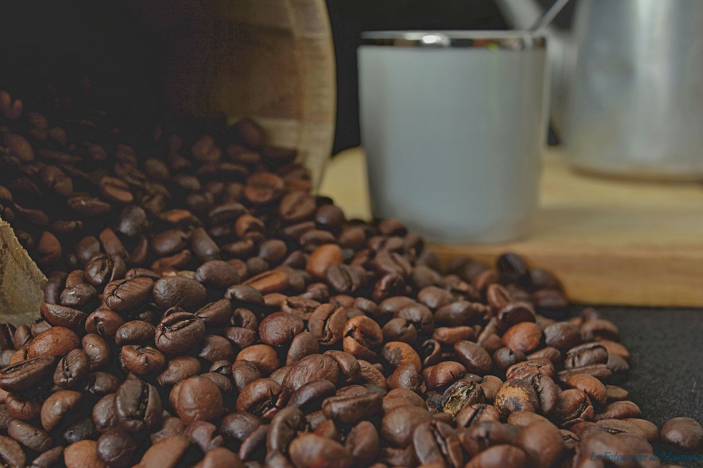 It's time for coffee...