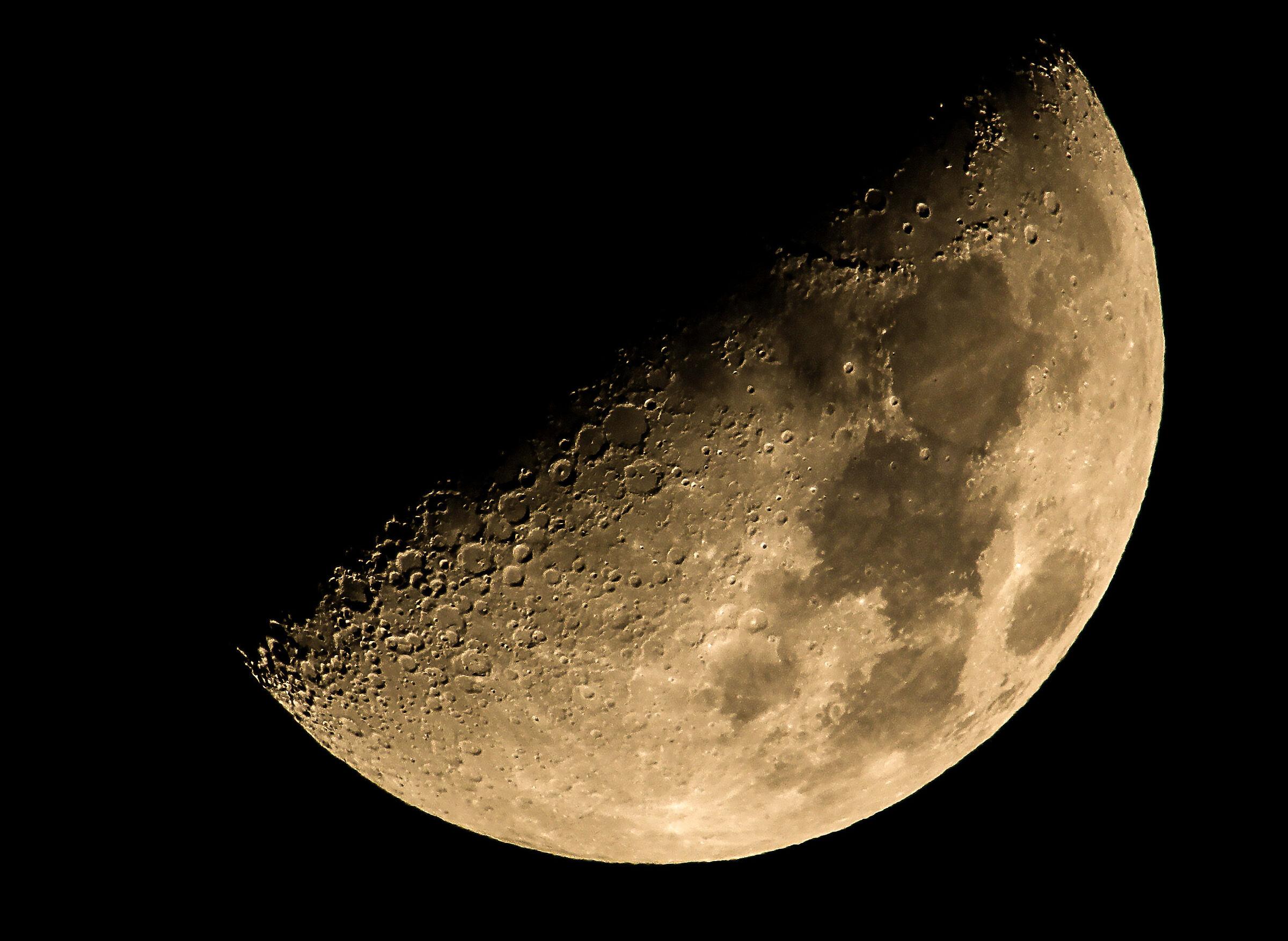 Moon at 1350mm...
