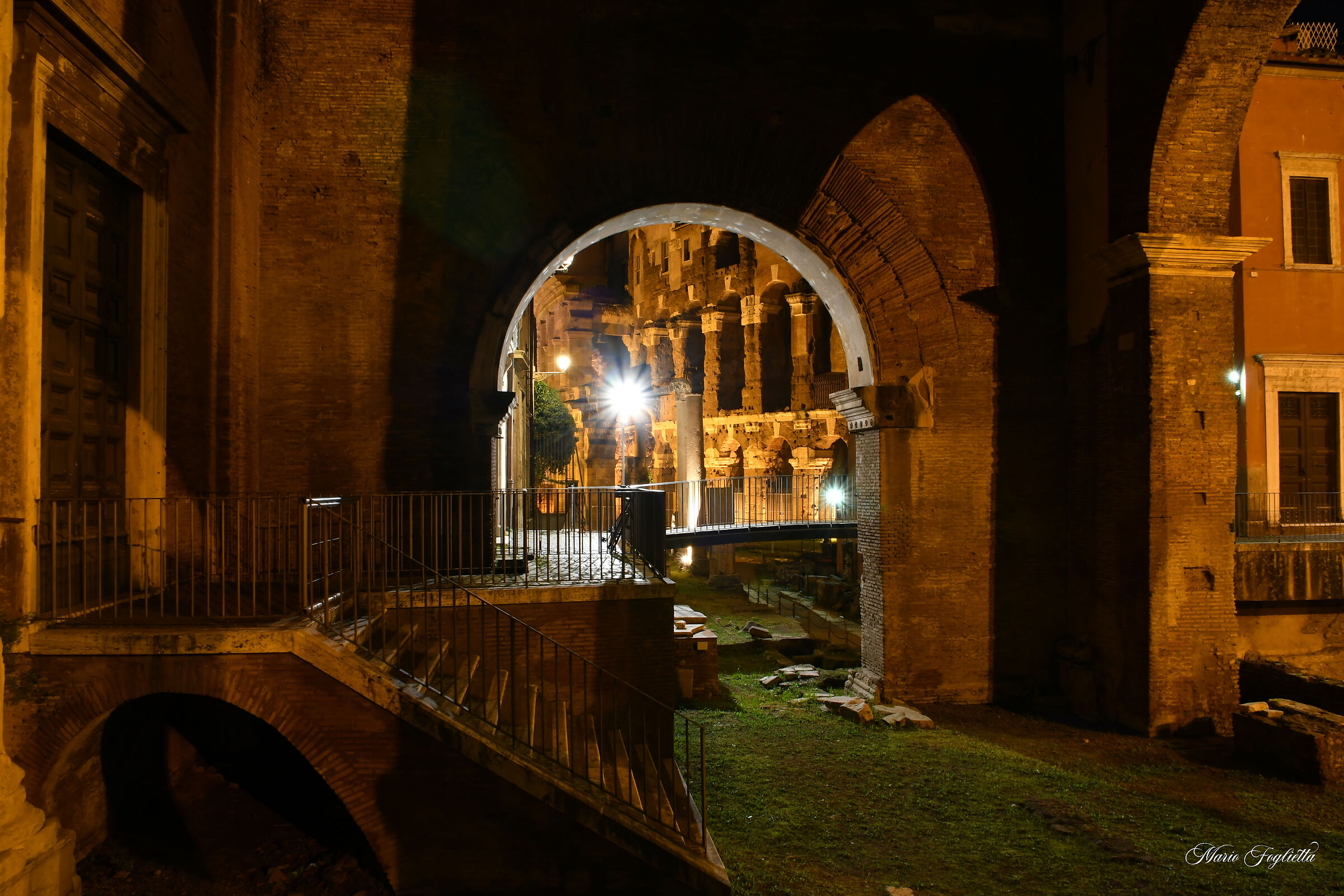 Portico D'Ottavia...
