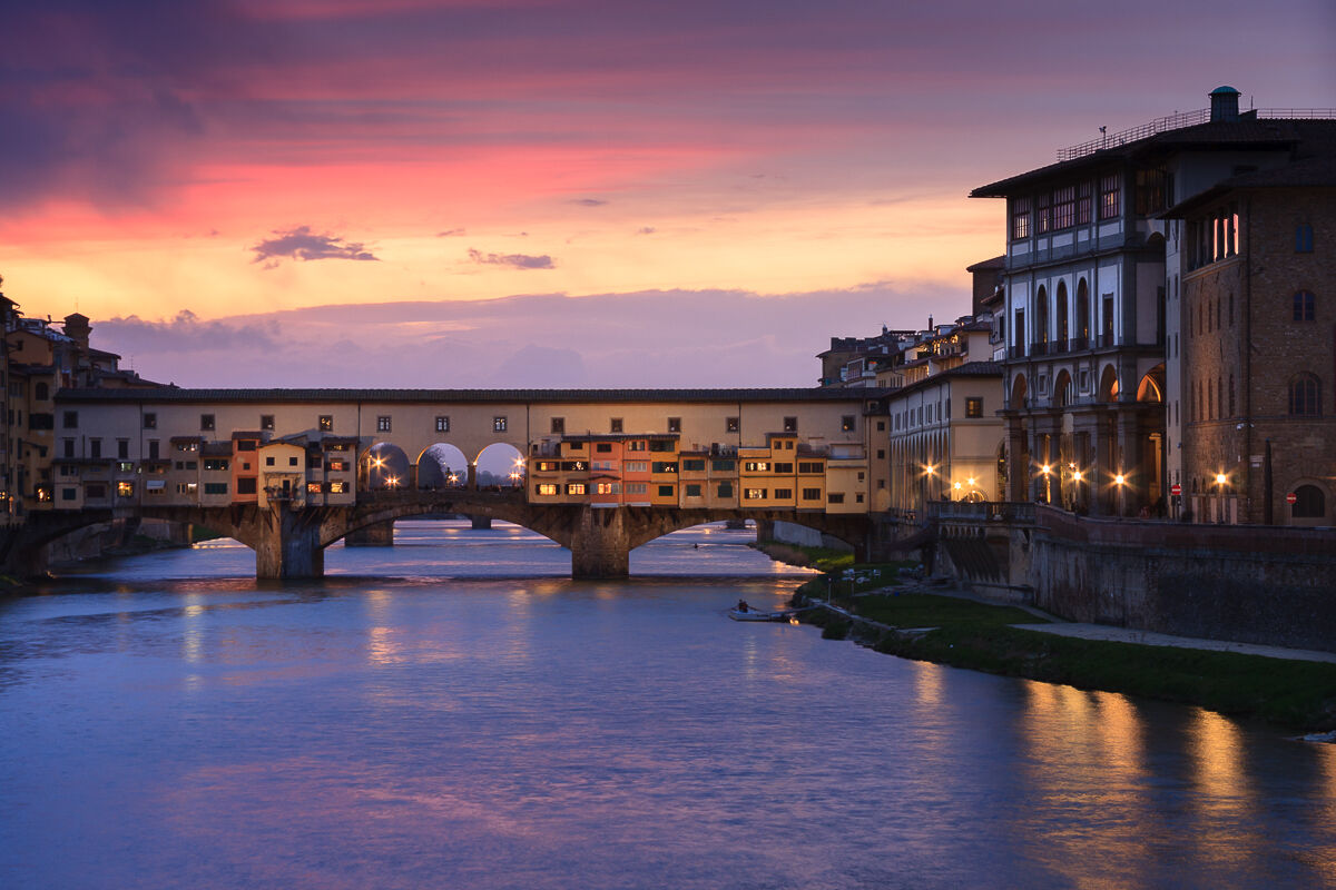 A full of colors for Florence!...