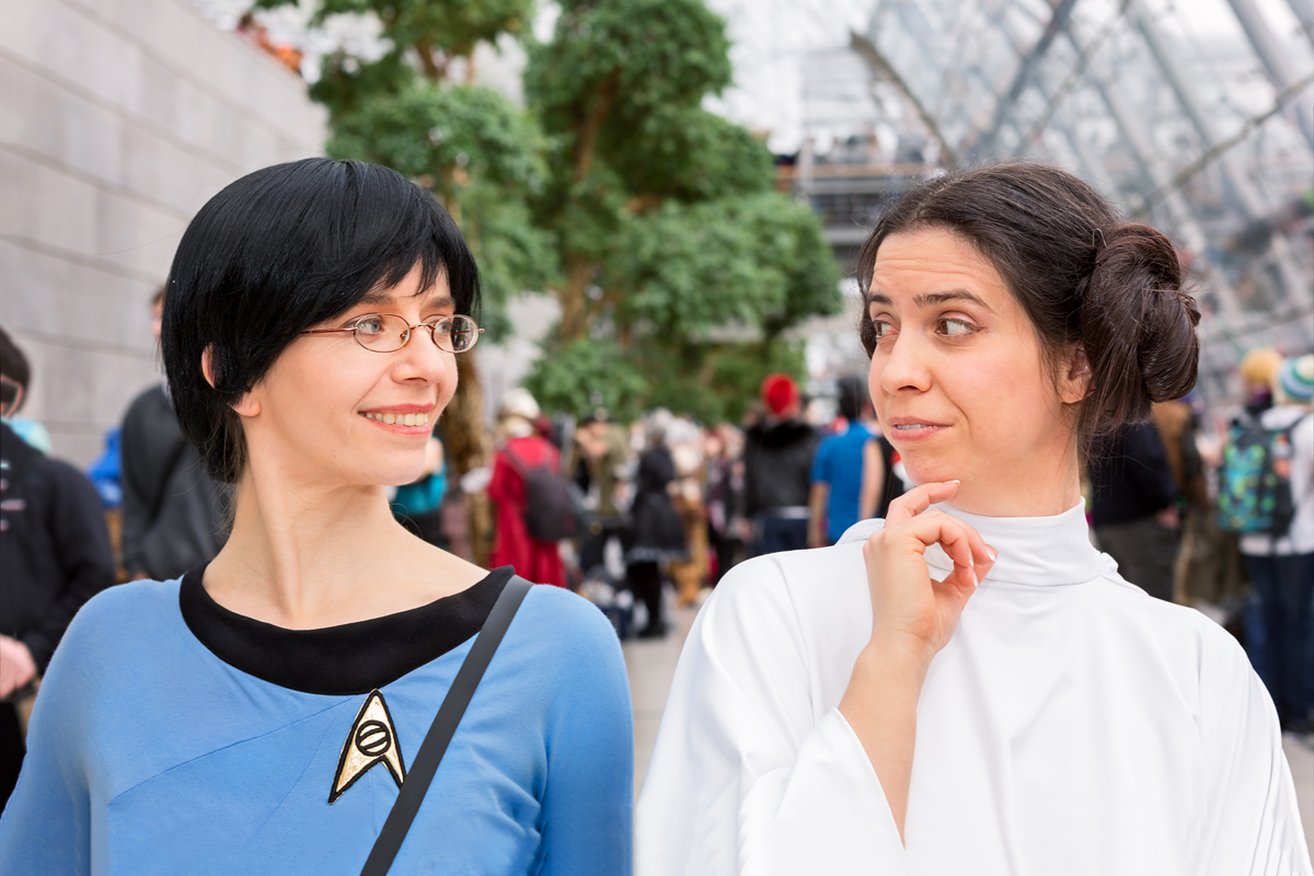 Star Trek meets Star Wars...
