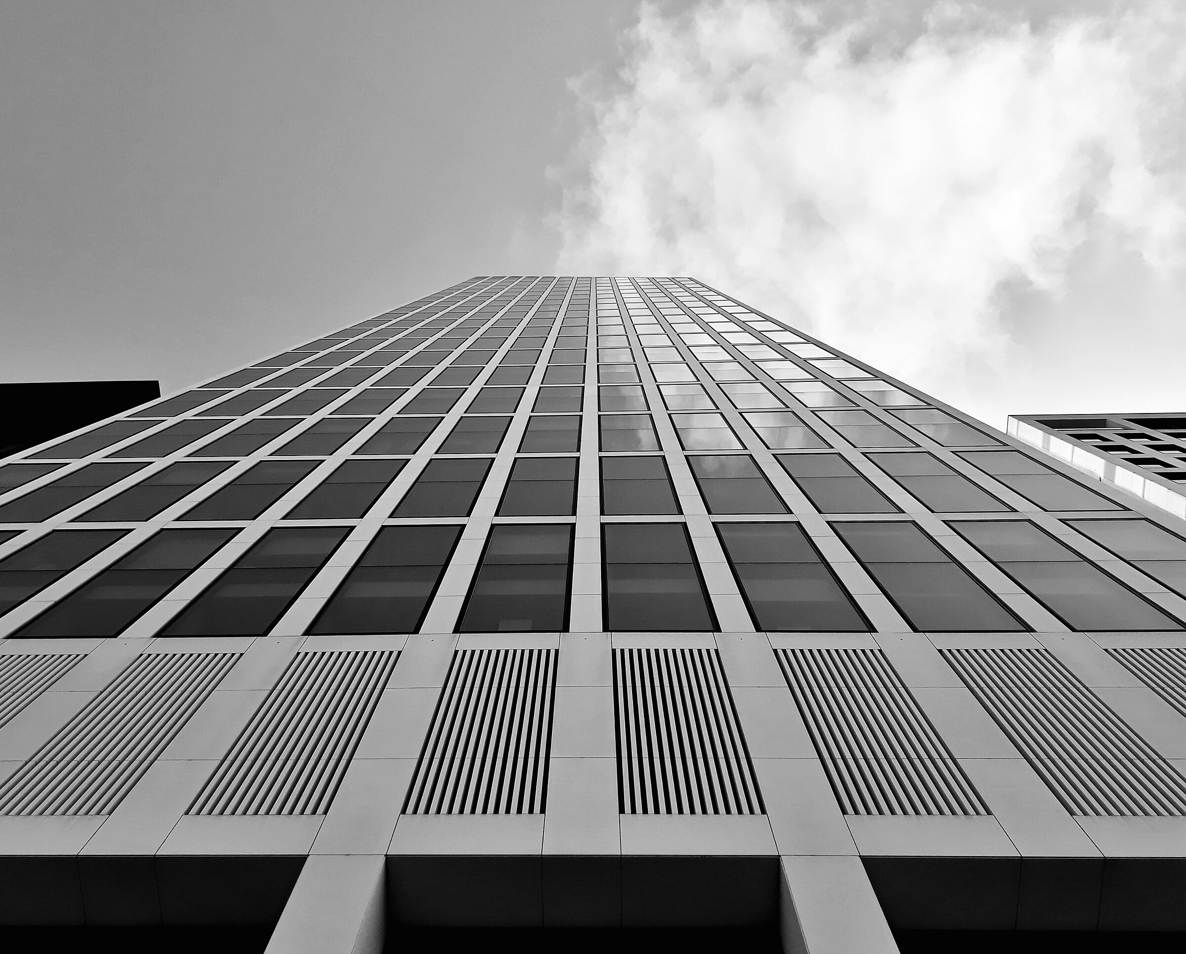 Skyscraper in Frankfurt...