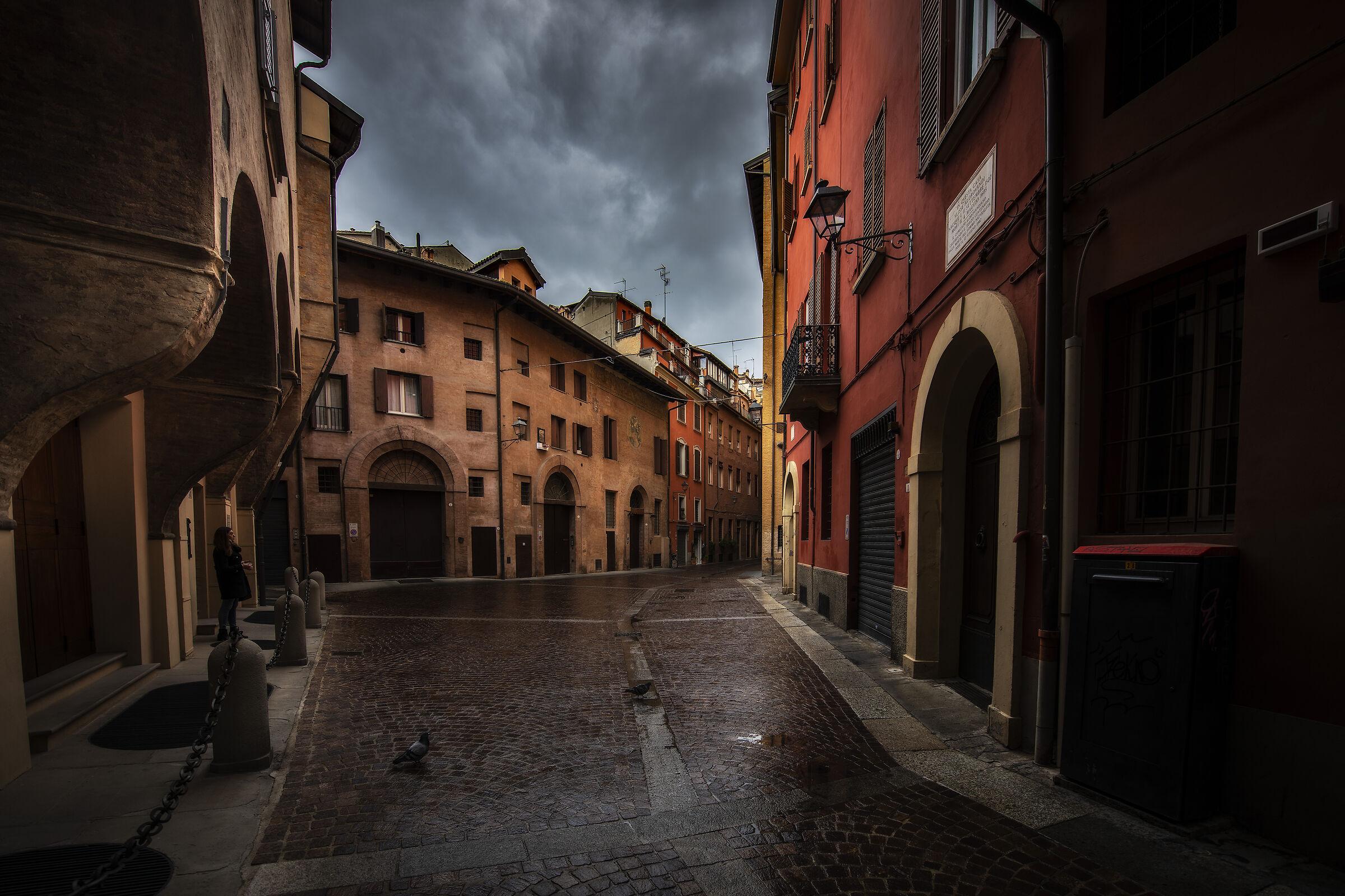 Via dè Pepoli, Bologna...