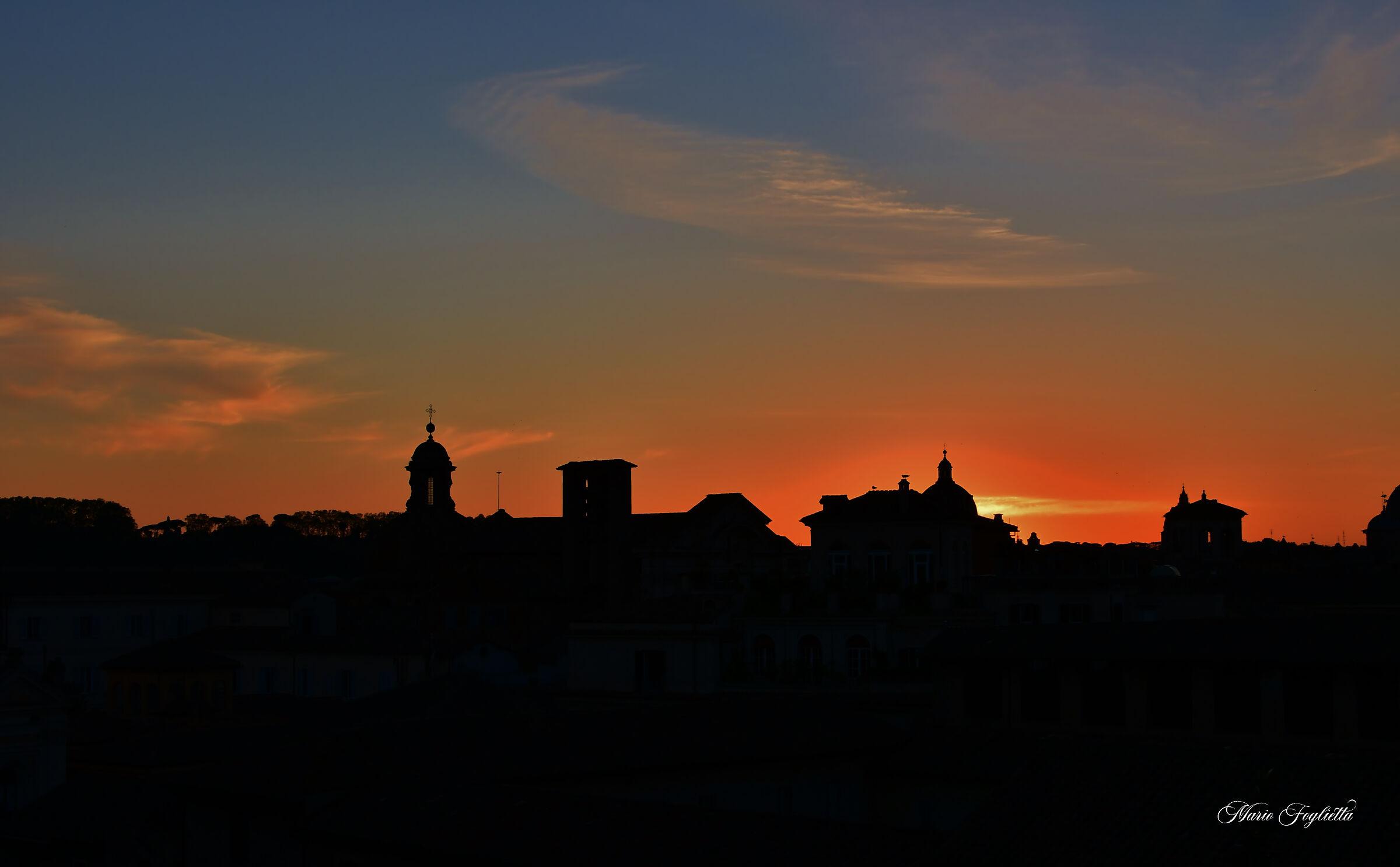 Roman Sunsets...