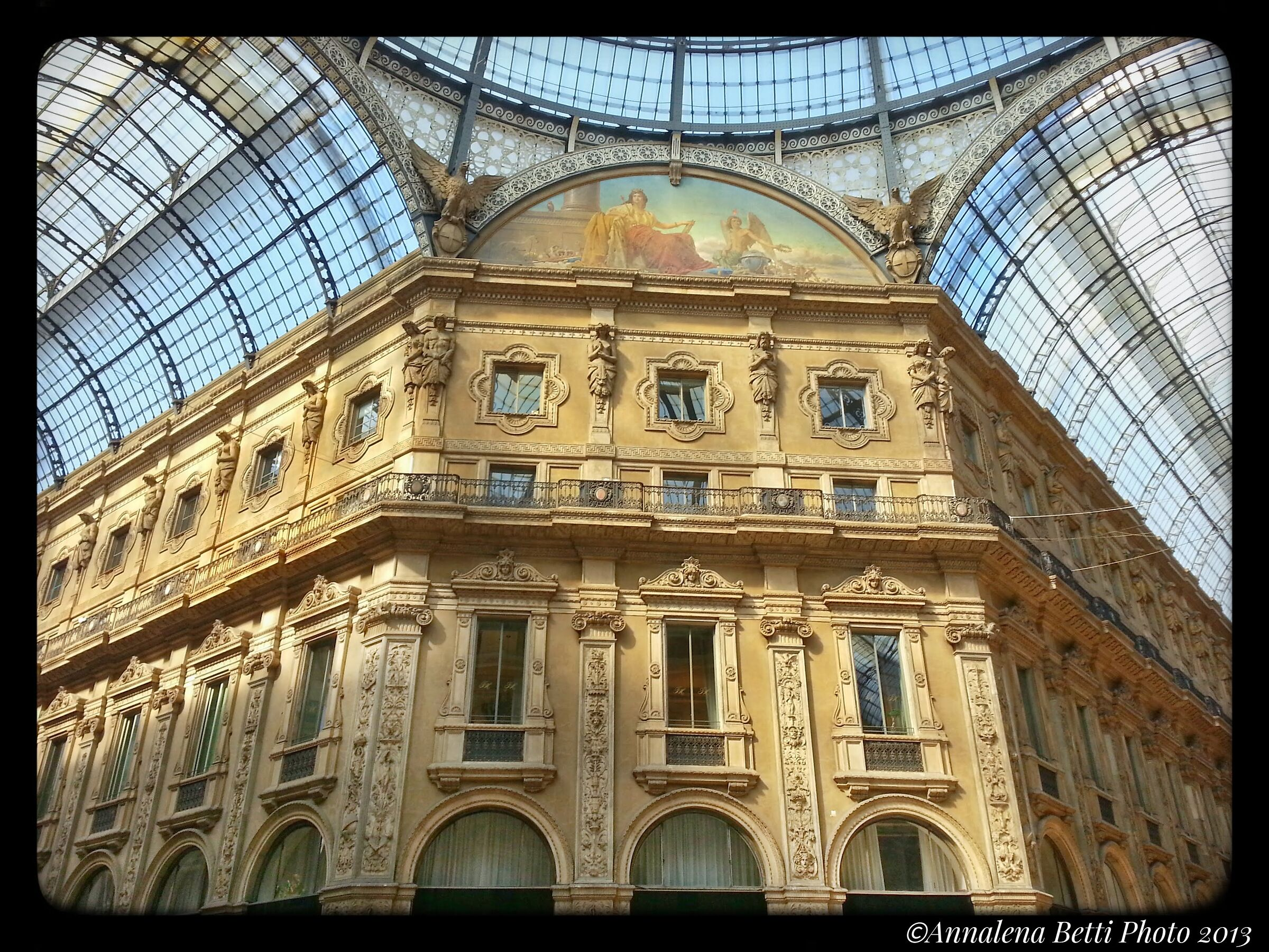 Galleria Vittorio Emanuele Milano ...