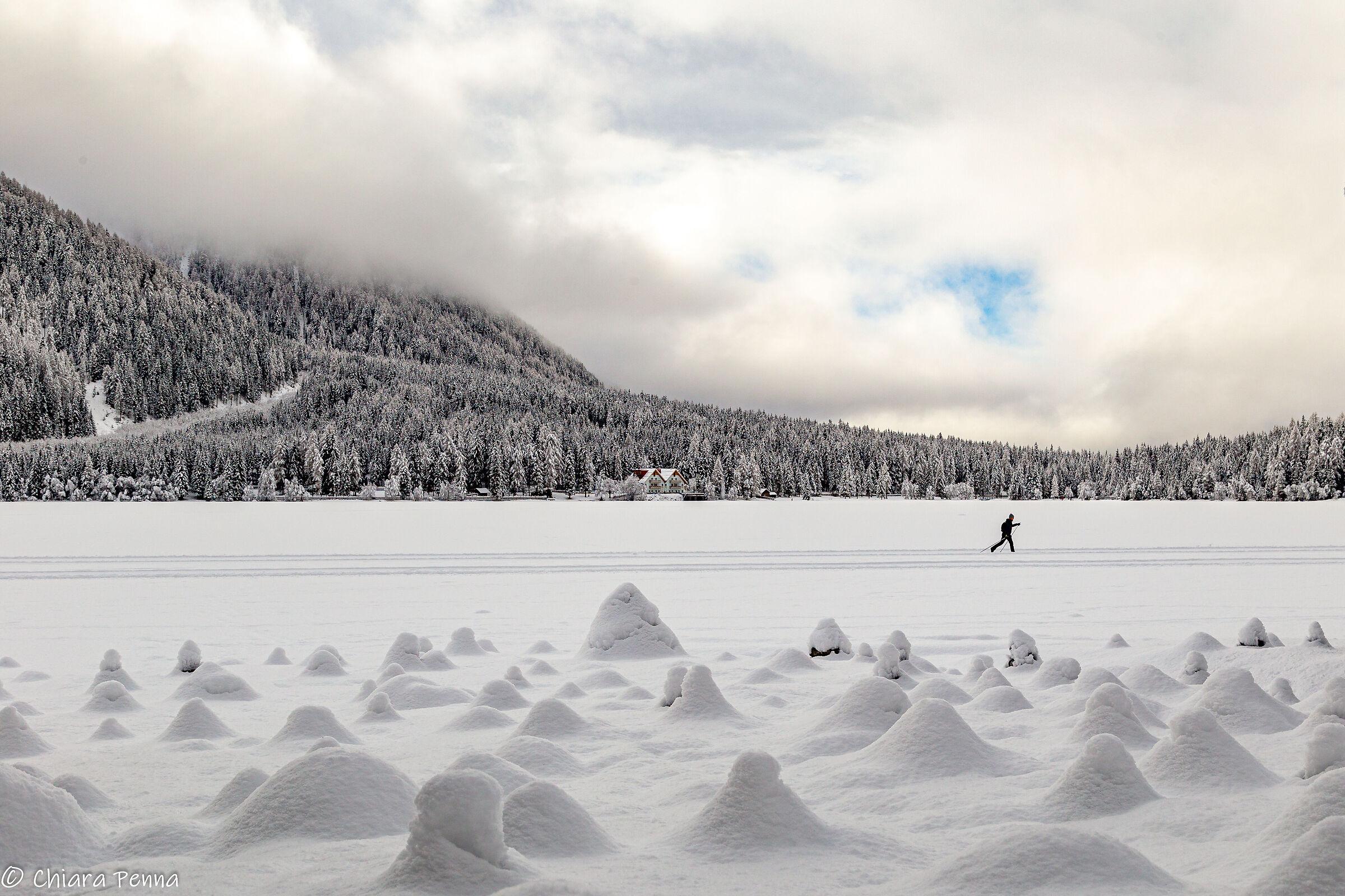Sci di fondo al Lago di Anterselva...