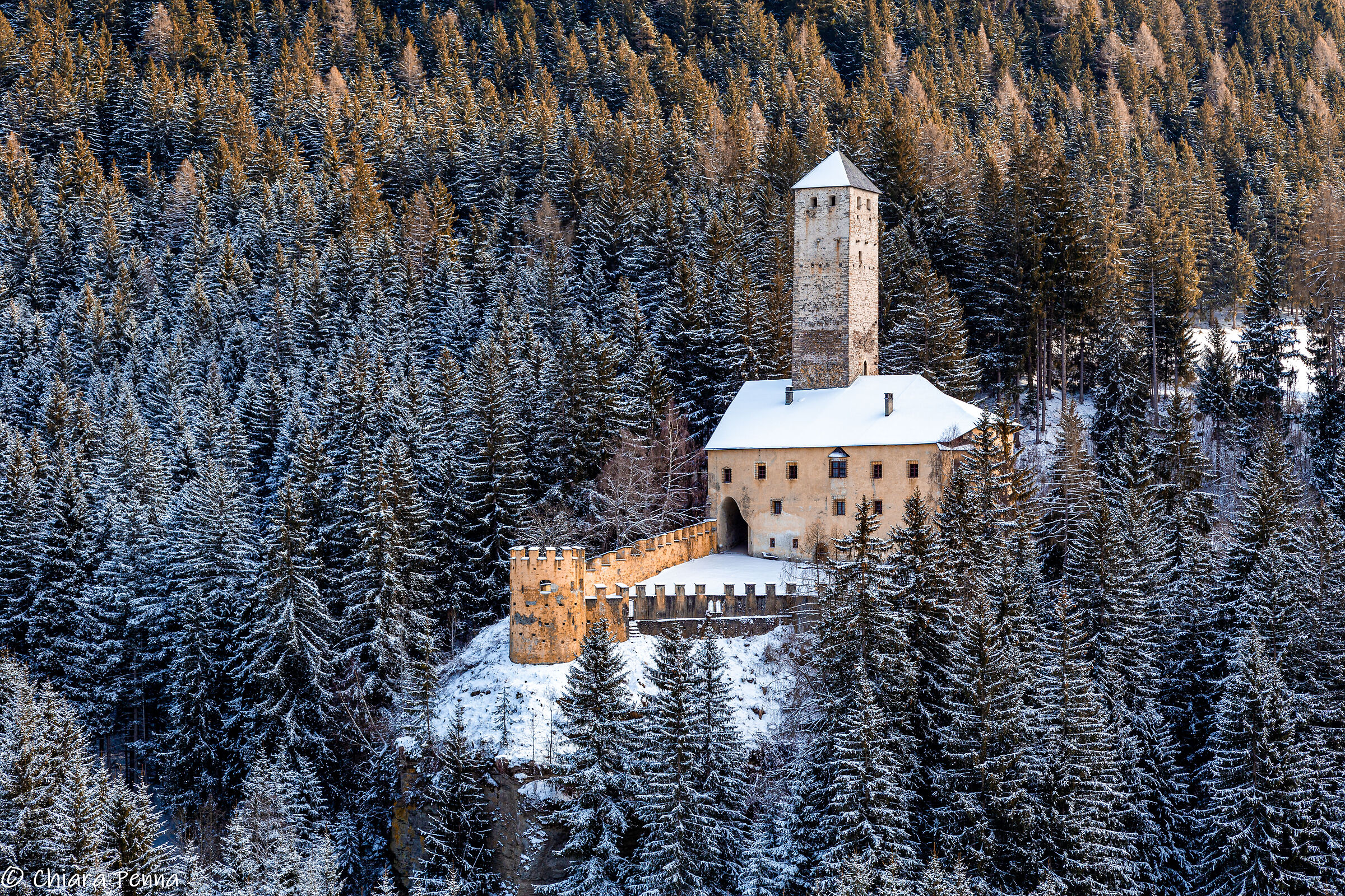 Castel Welsperg, in the Monguelfo district...