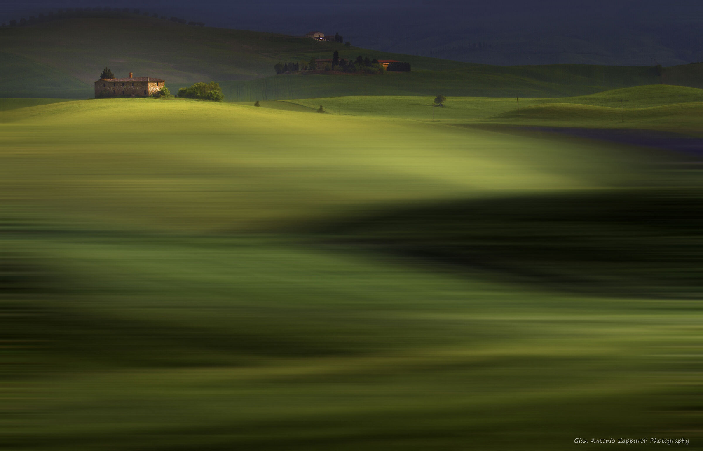 Val d'Orca: green waves...