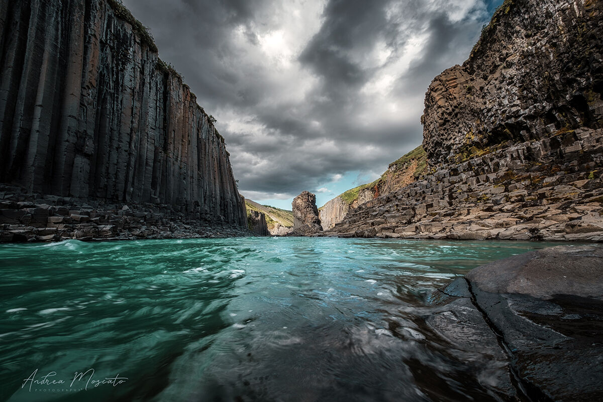 Stuðlagil Canyon (Iceland)...
