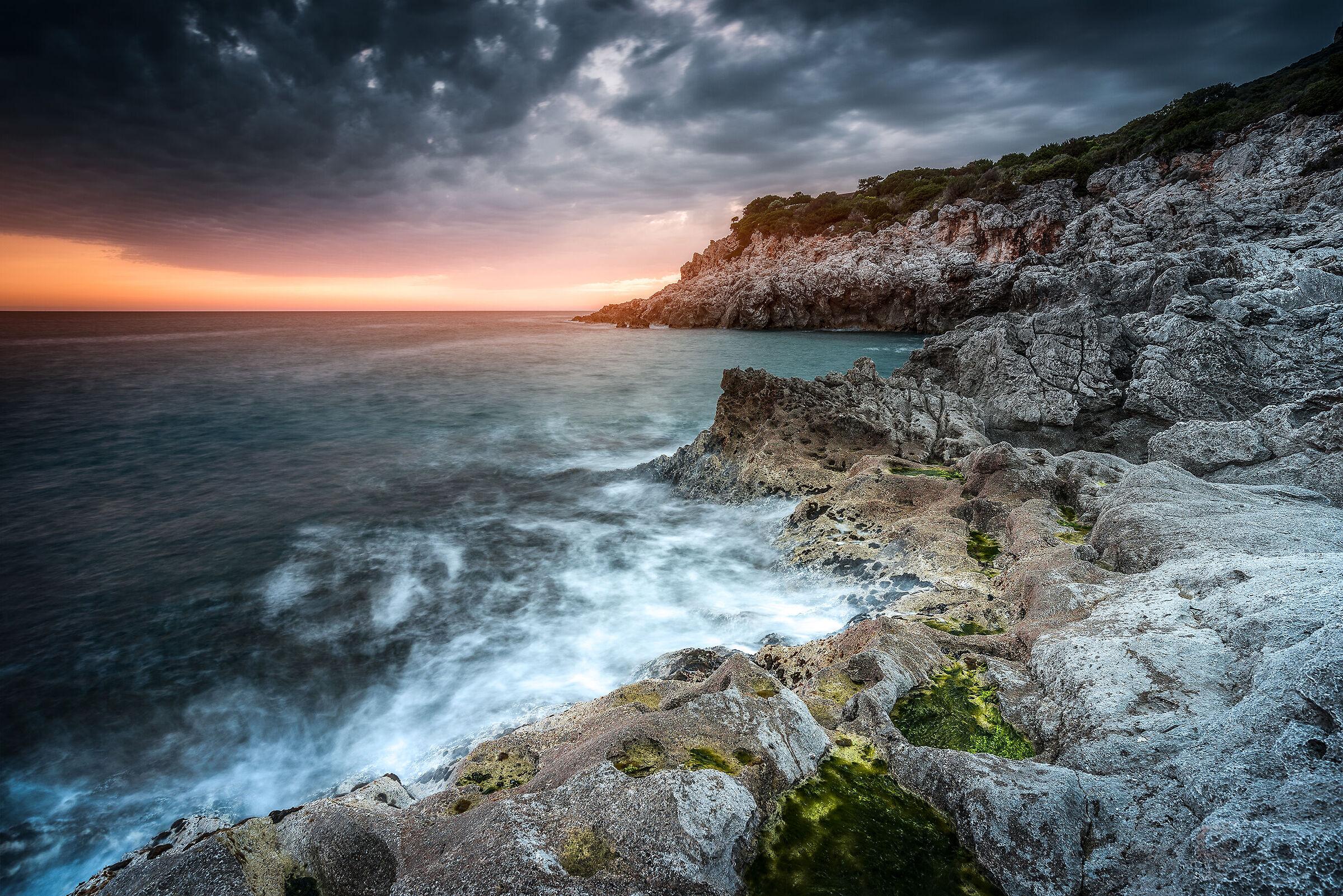 Sunset at Punta Rossa...