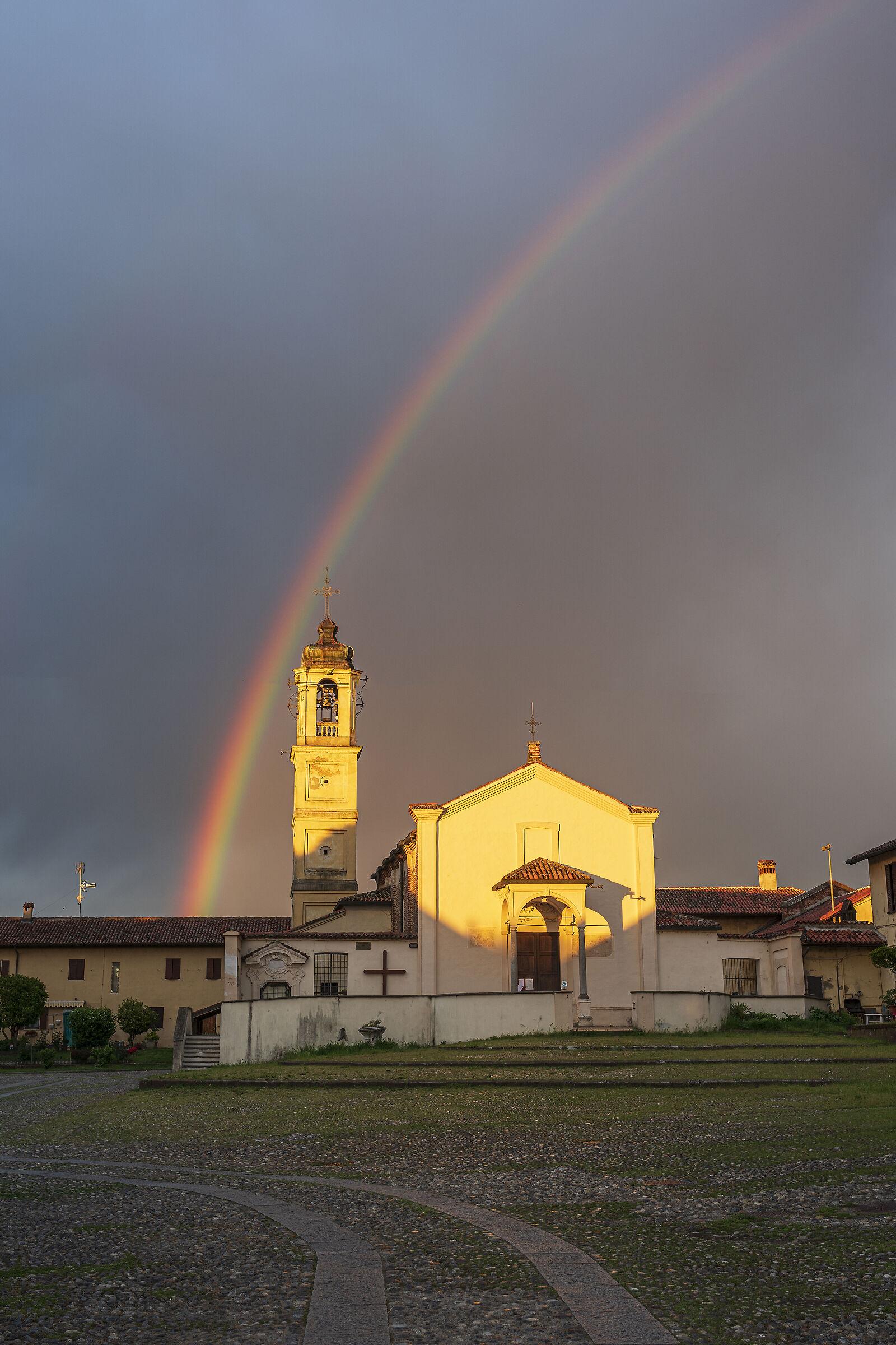 the rainbow...