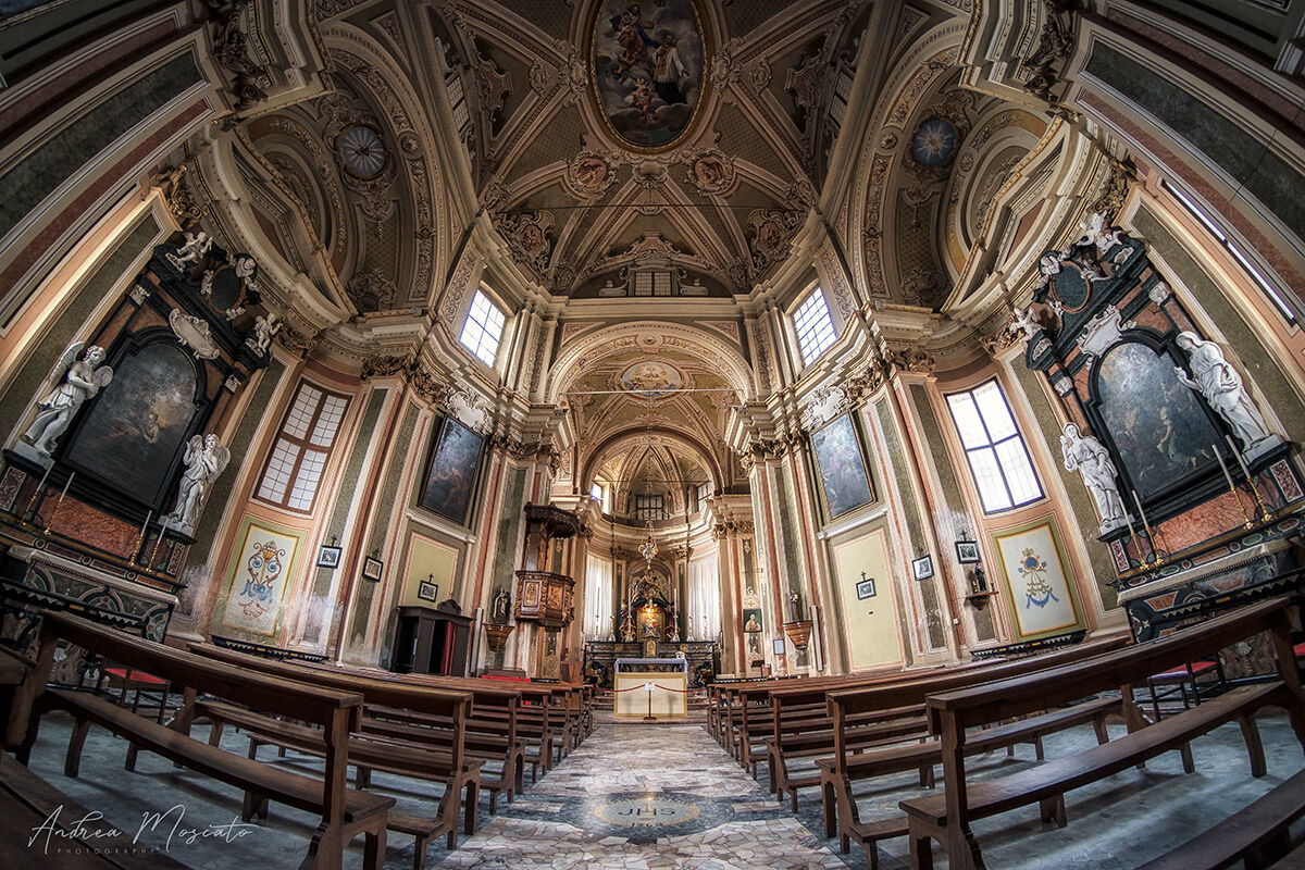 Santuario della Madonna delle Grazie - Cressa (no)...