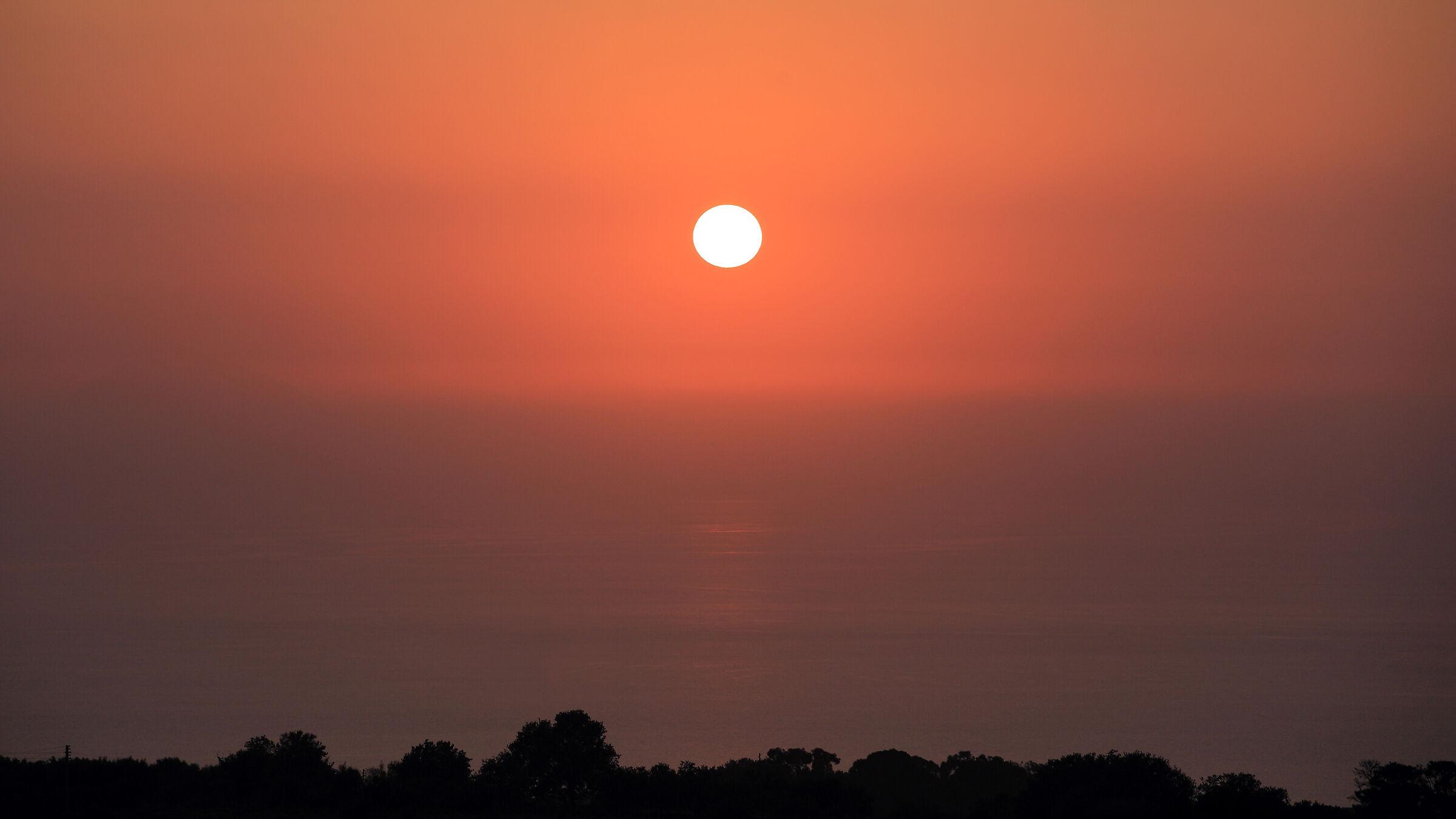 Calabria sunset...