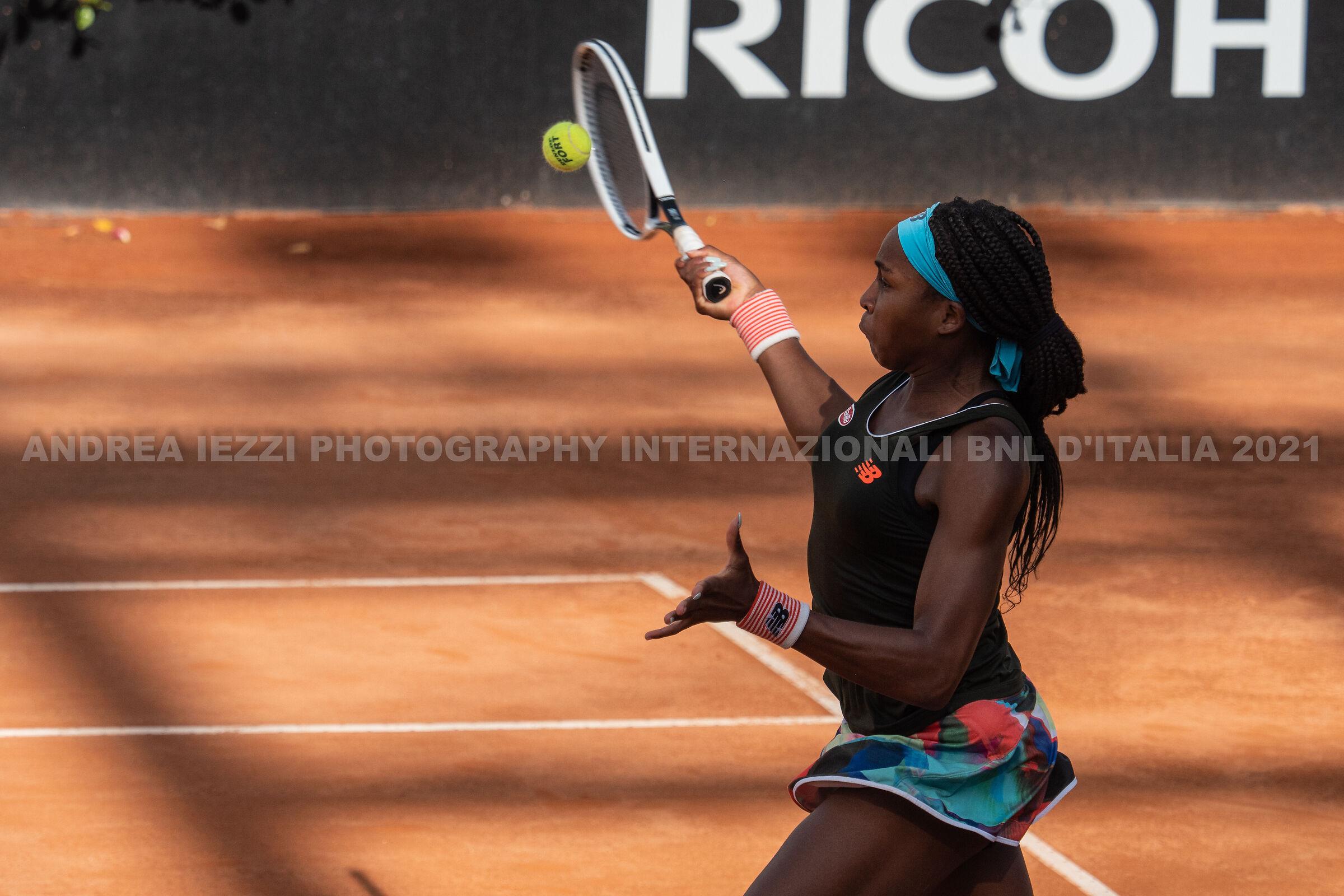Cori Gauff, Italian BNL International Semifinals ...