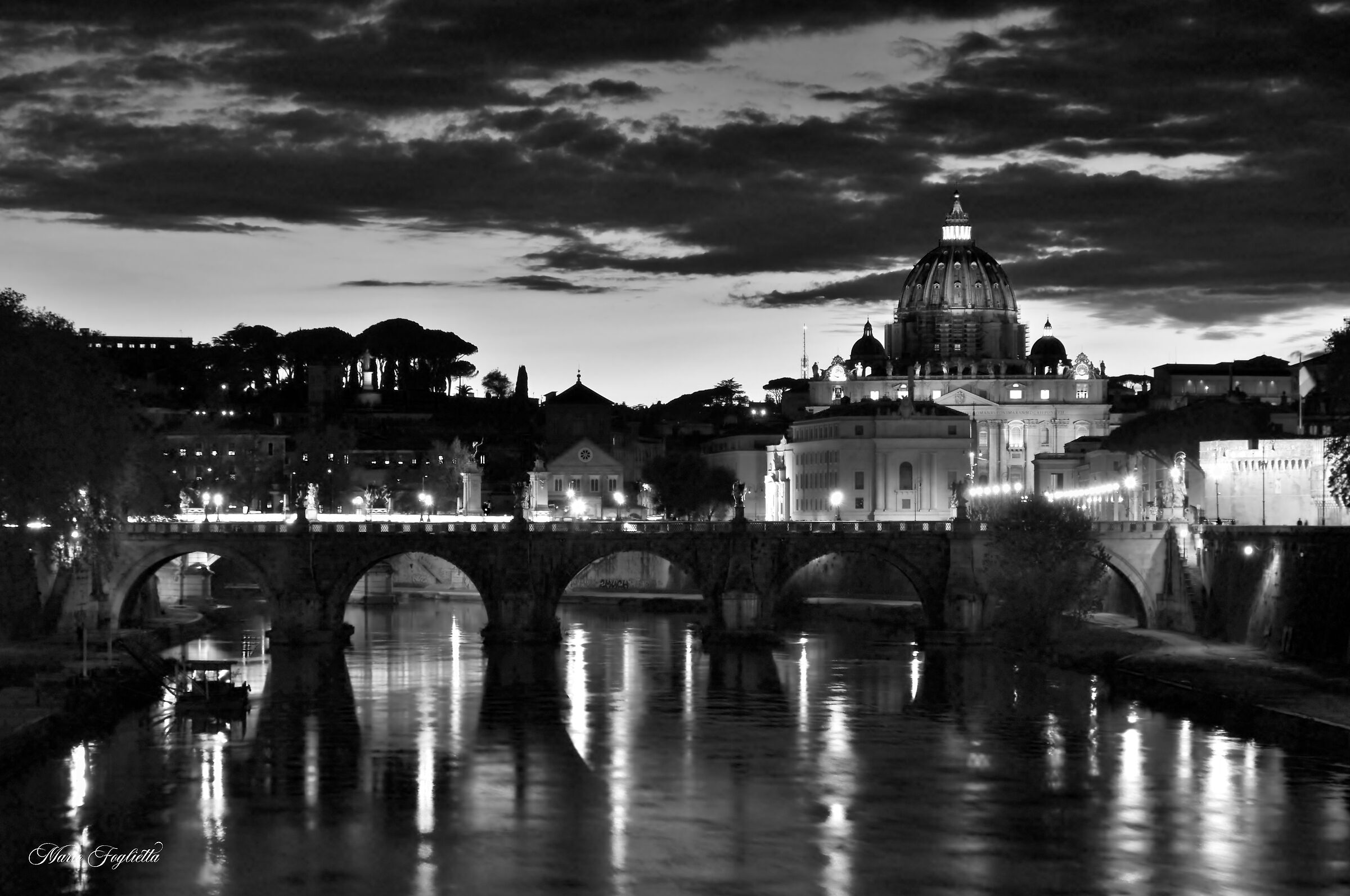 Under the Sky of Rome...