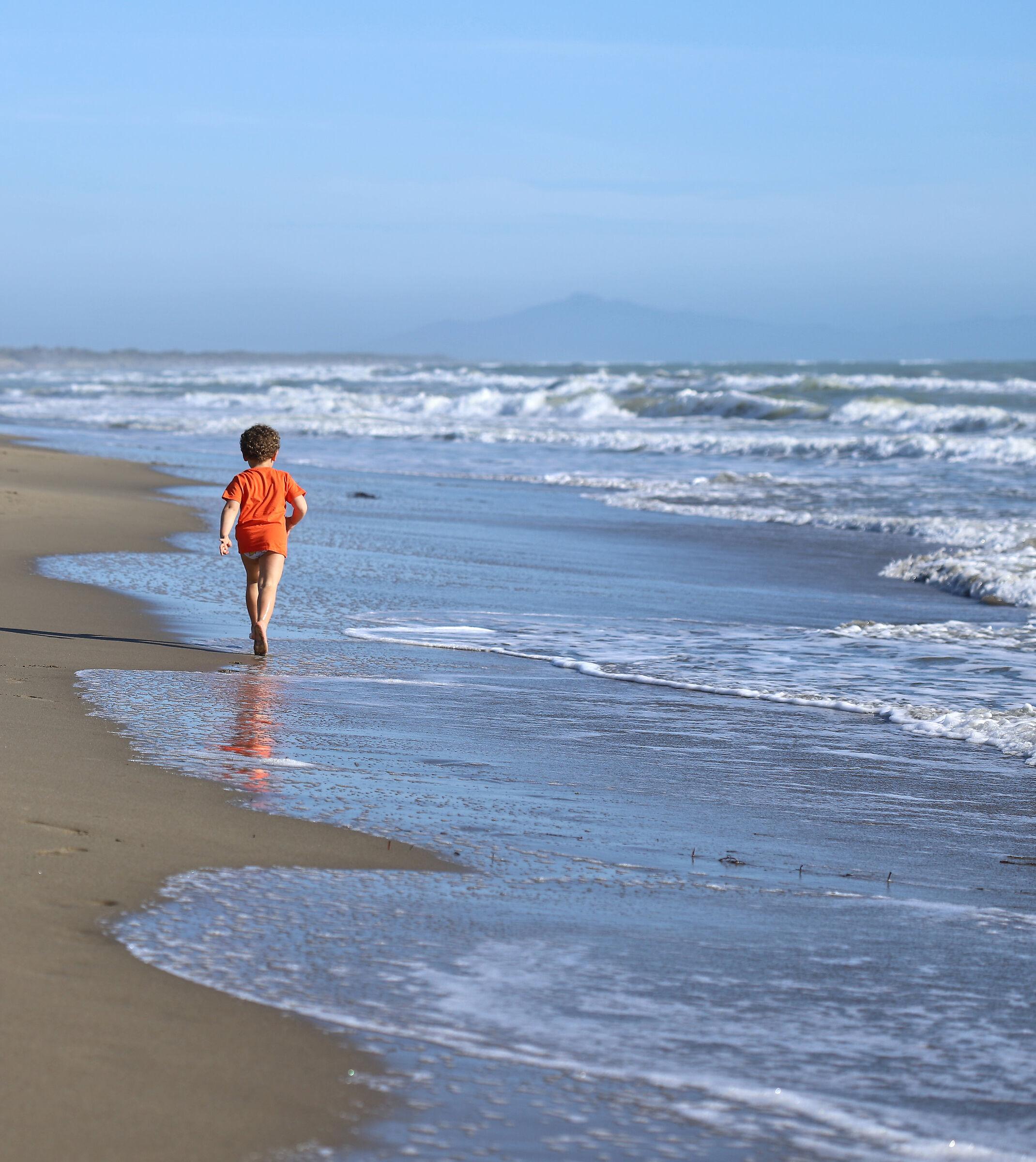 Spiaggia libera...
