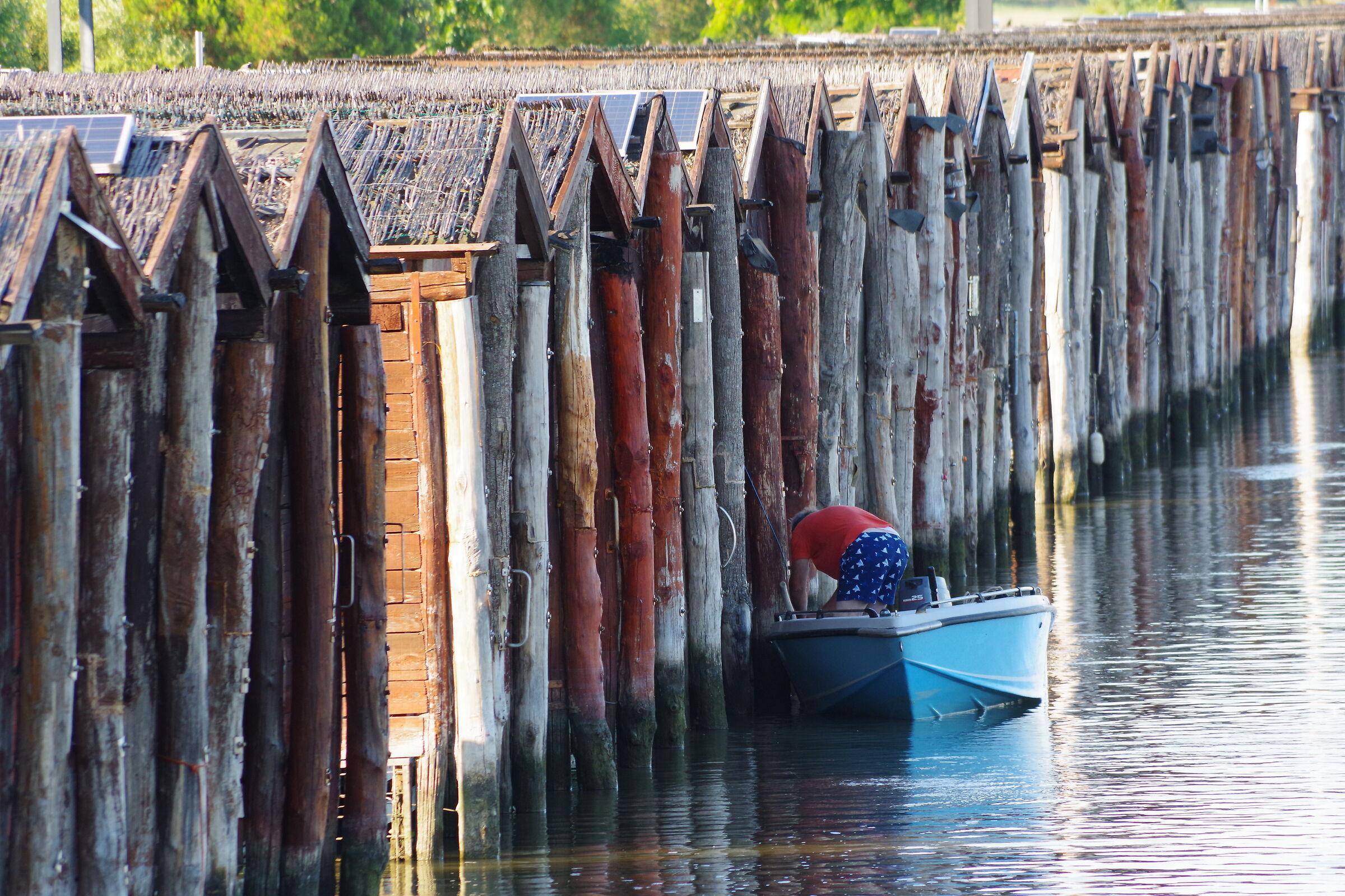 Cavane (boat shelter)...