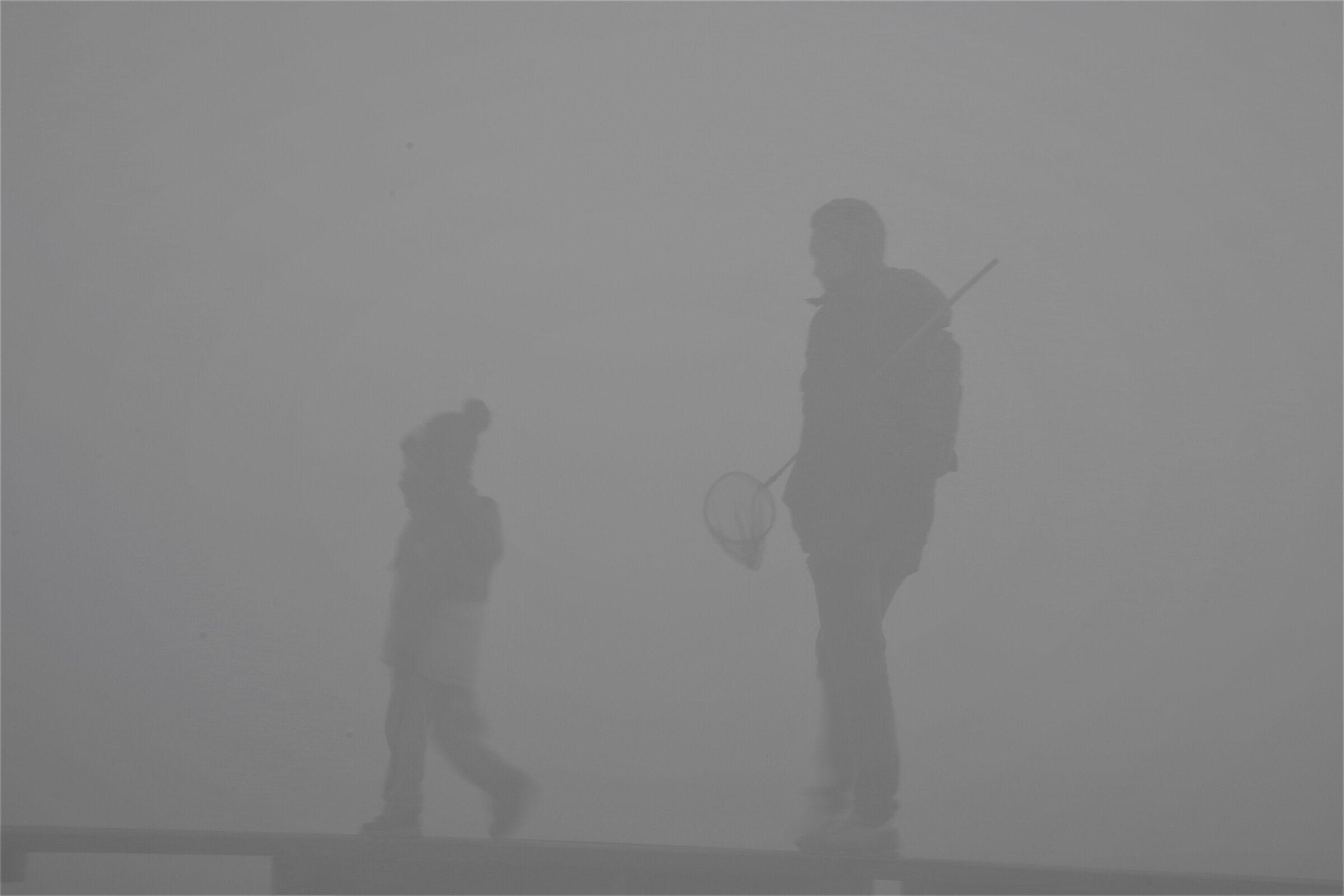Fishing in the fog...