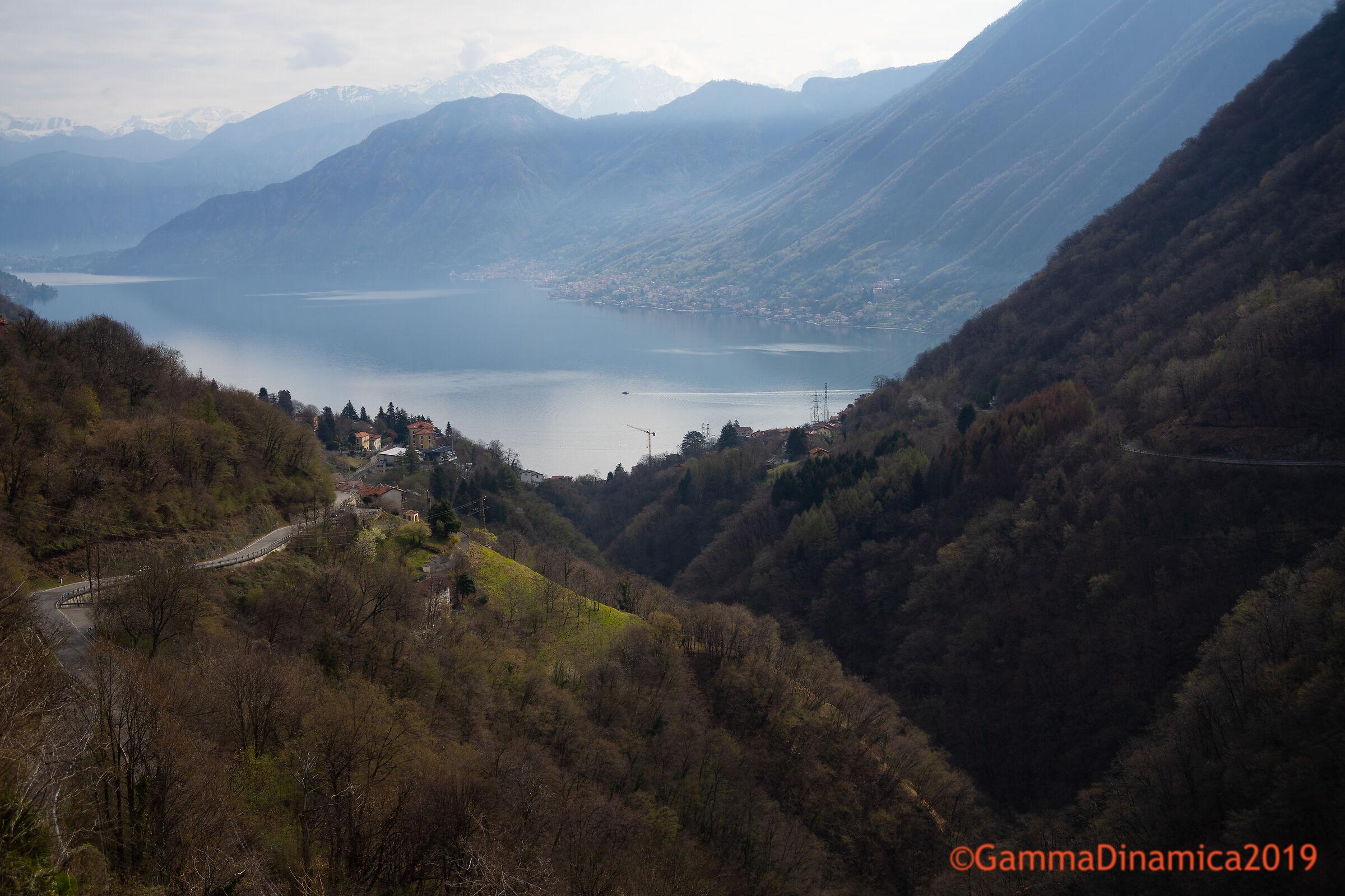 Lago di Como dalla Valle D'intelvi...